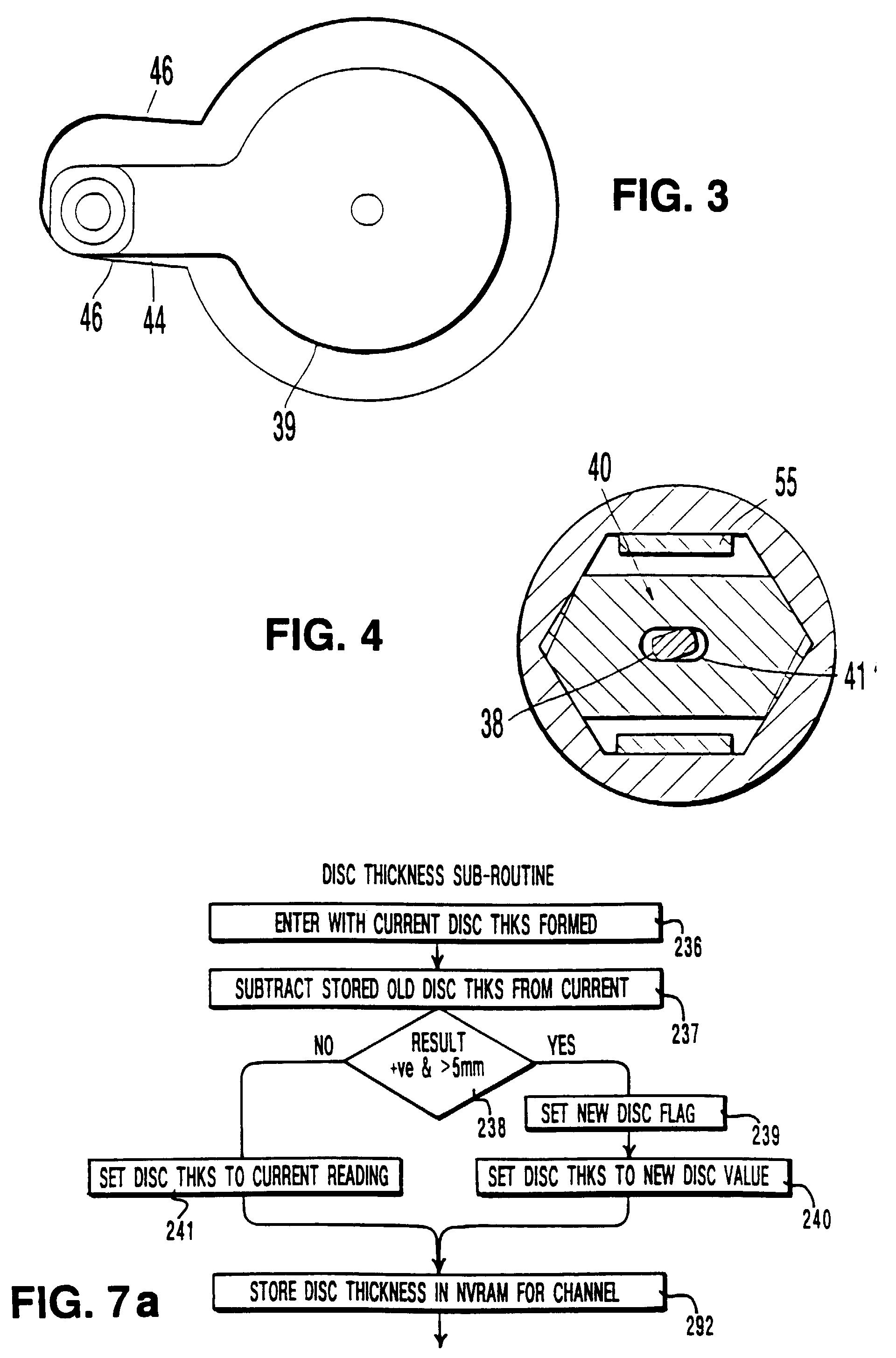 Brake Lining Draw : Patent ep b brake lining wear sensing system