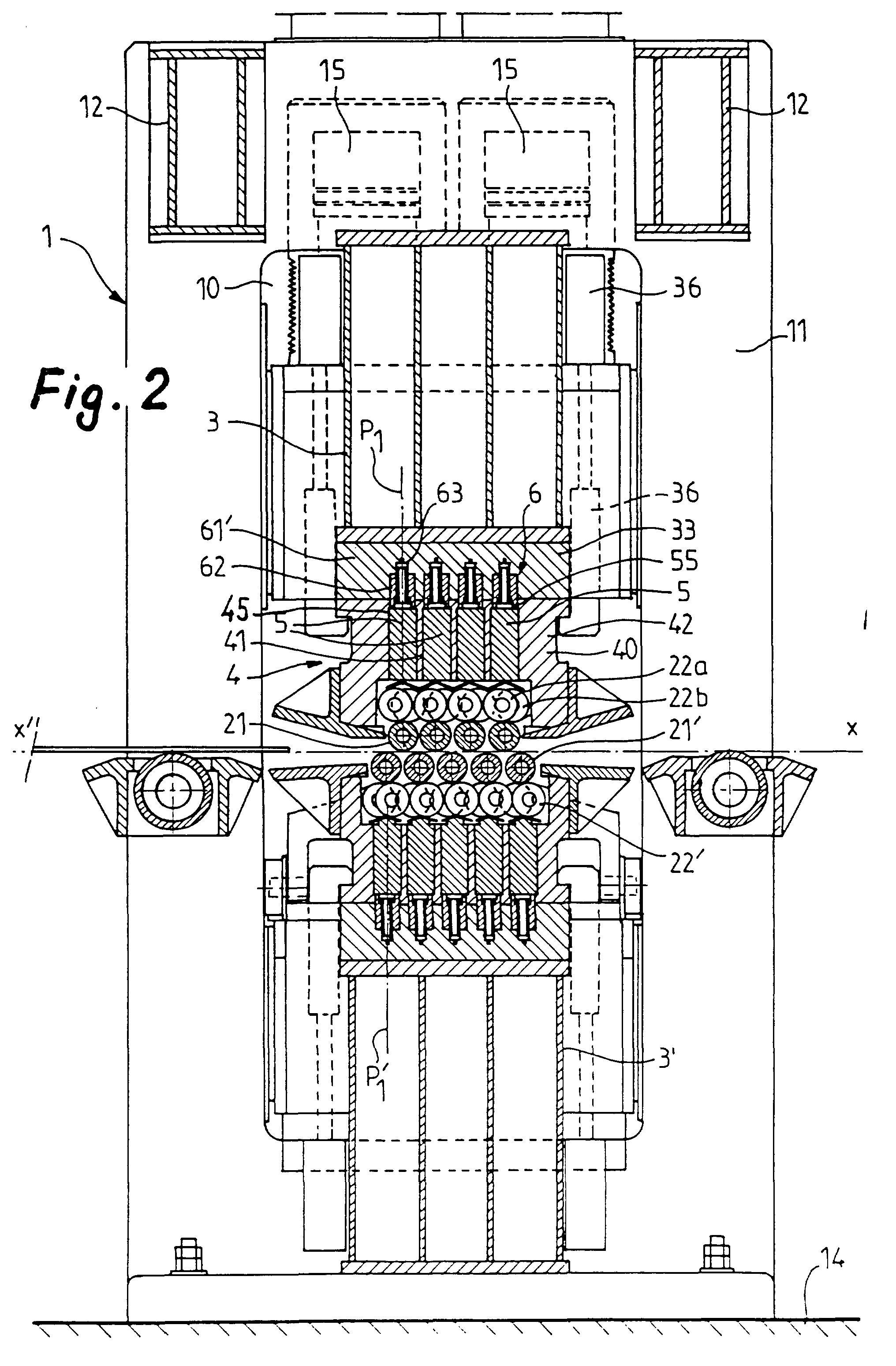 Patent Ep0765196b1 Planeuse A Rouleaux Imbriques Et Procede De Ibanez Fr Wiring Diagram Drawing