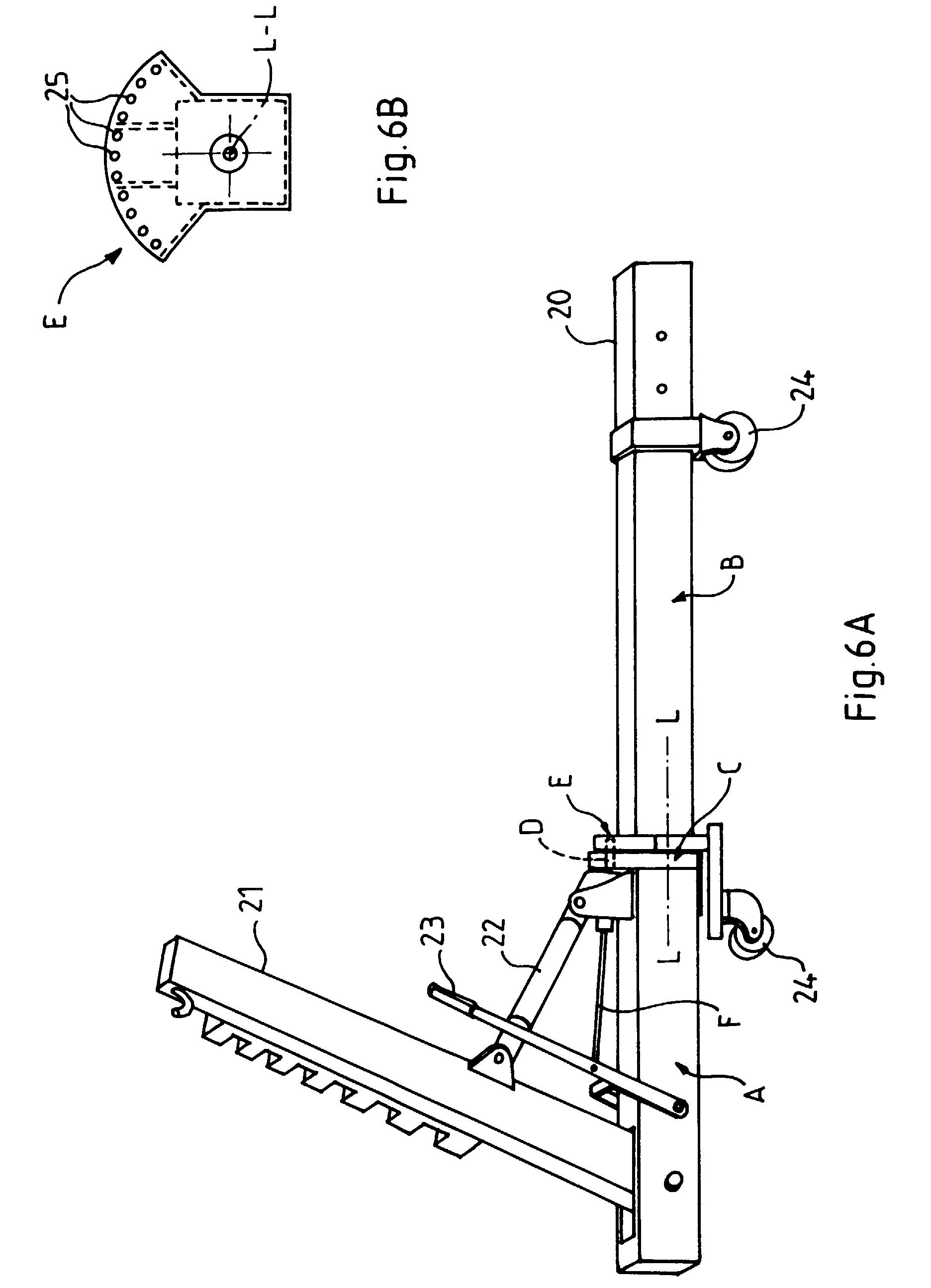 patent ep0765699a1 ch ssis de redressage pour carrosserie automobile google patents. Black Bedroom Furniture Sets. Home Design Ideas