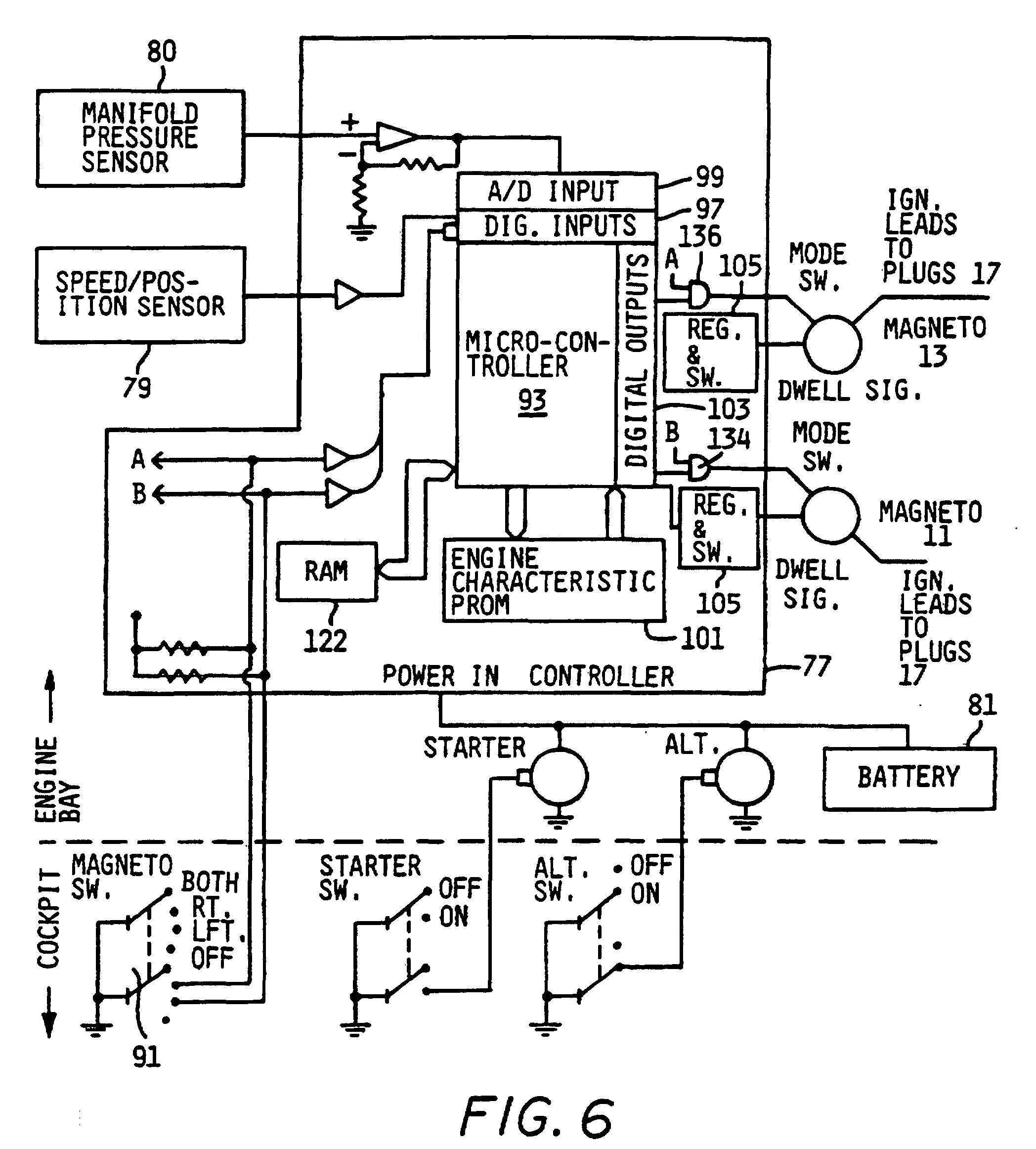 Magneto Wiring Diagram : Aircraft mag o ignition system wiring diagram magneto