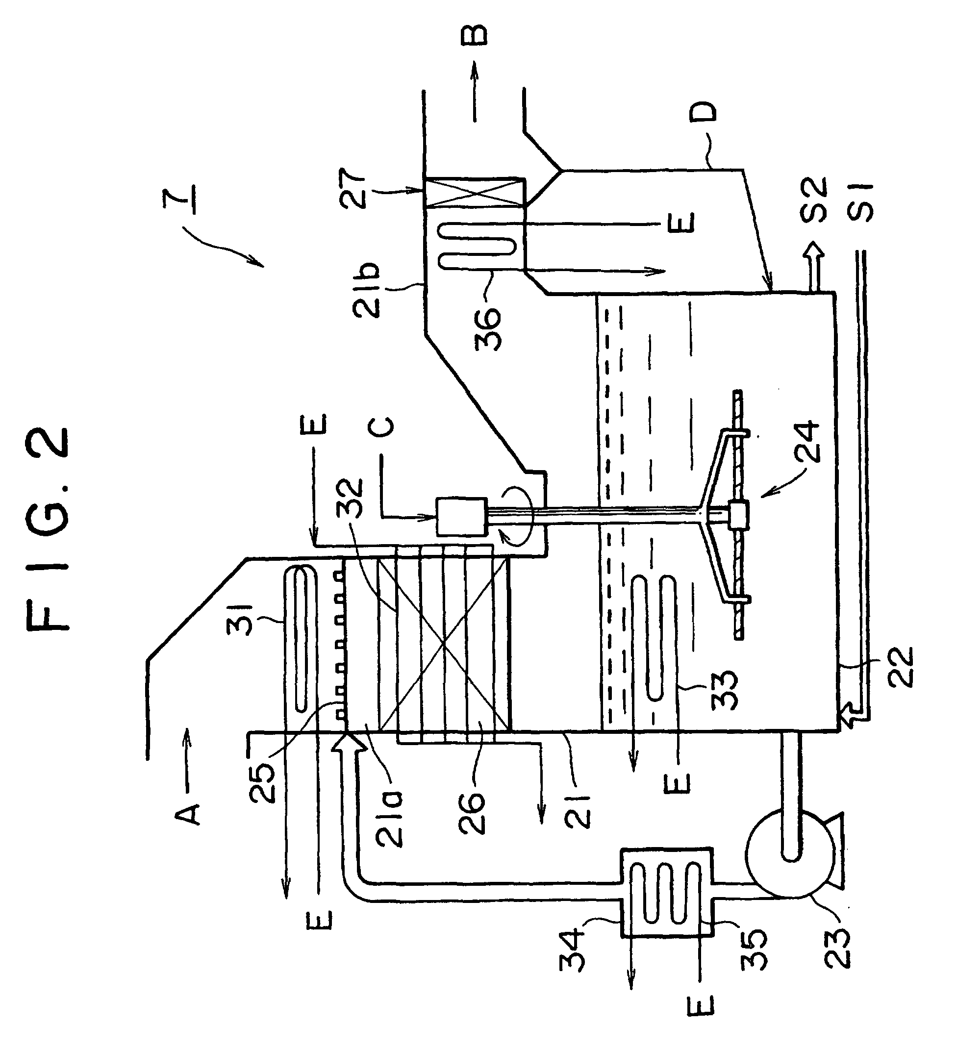 Patent EP B1 Boiler flue gas desulfuriser with heat