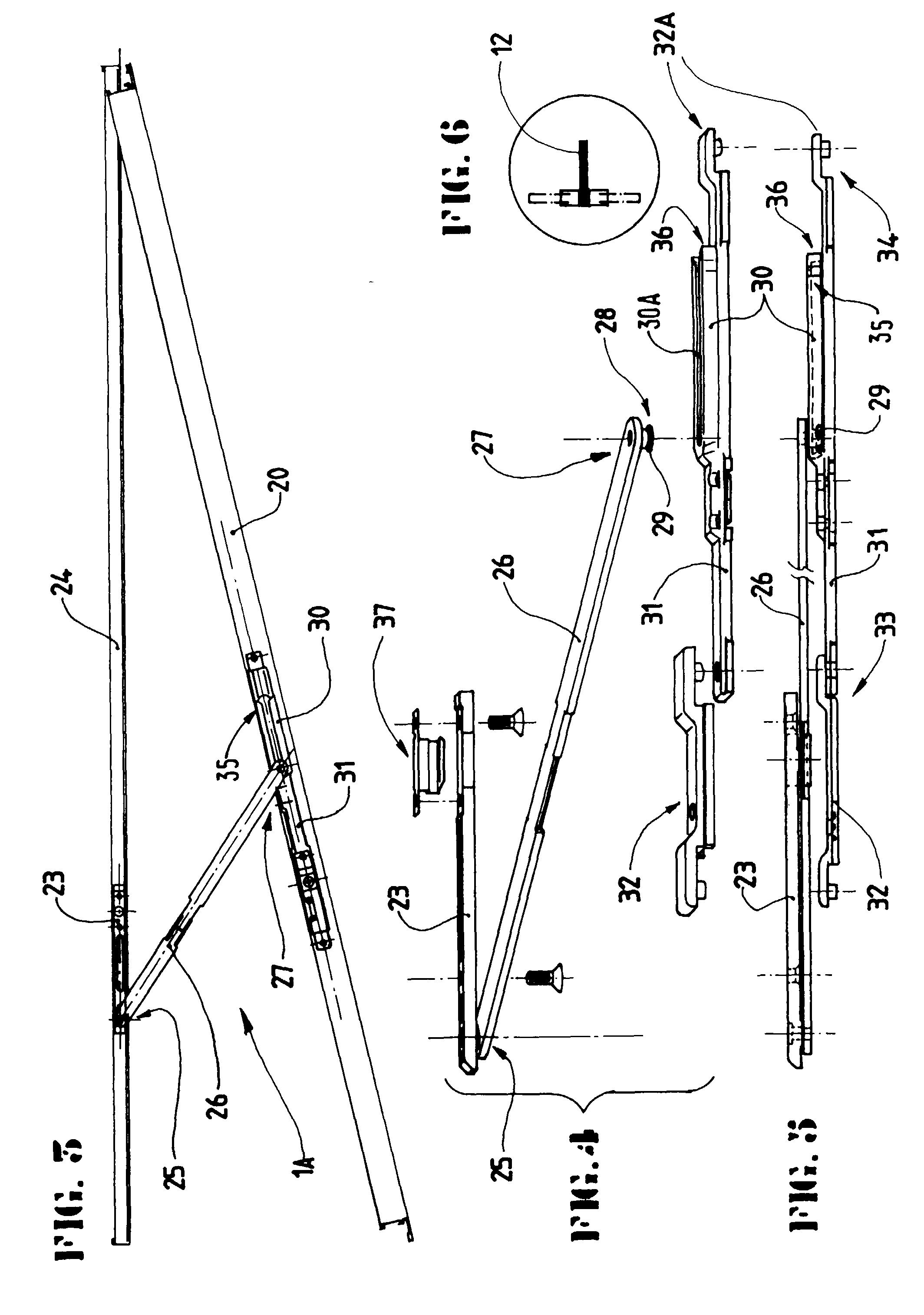 Patent Ep0770751b1 Dispositif De Maintien D 39 Un Ouvrant Dans Une Position Entreb Ill E Google