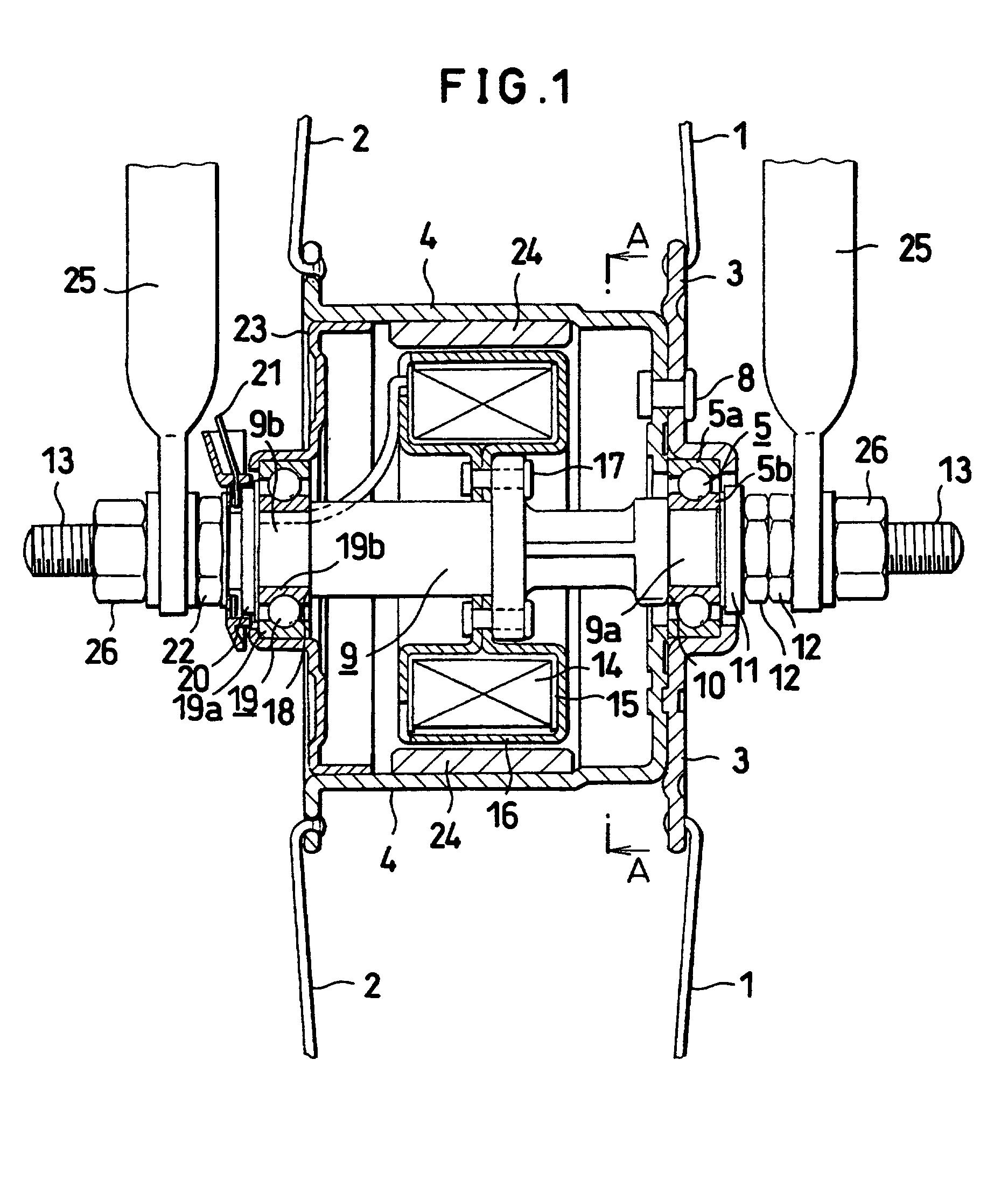 patent ep0773157b1 - hub dynamo for bicycle
