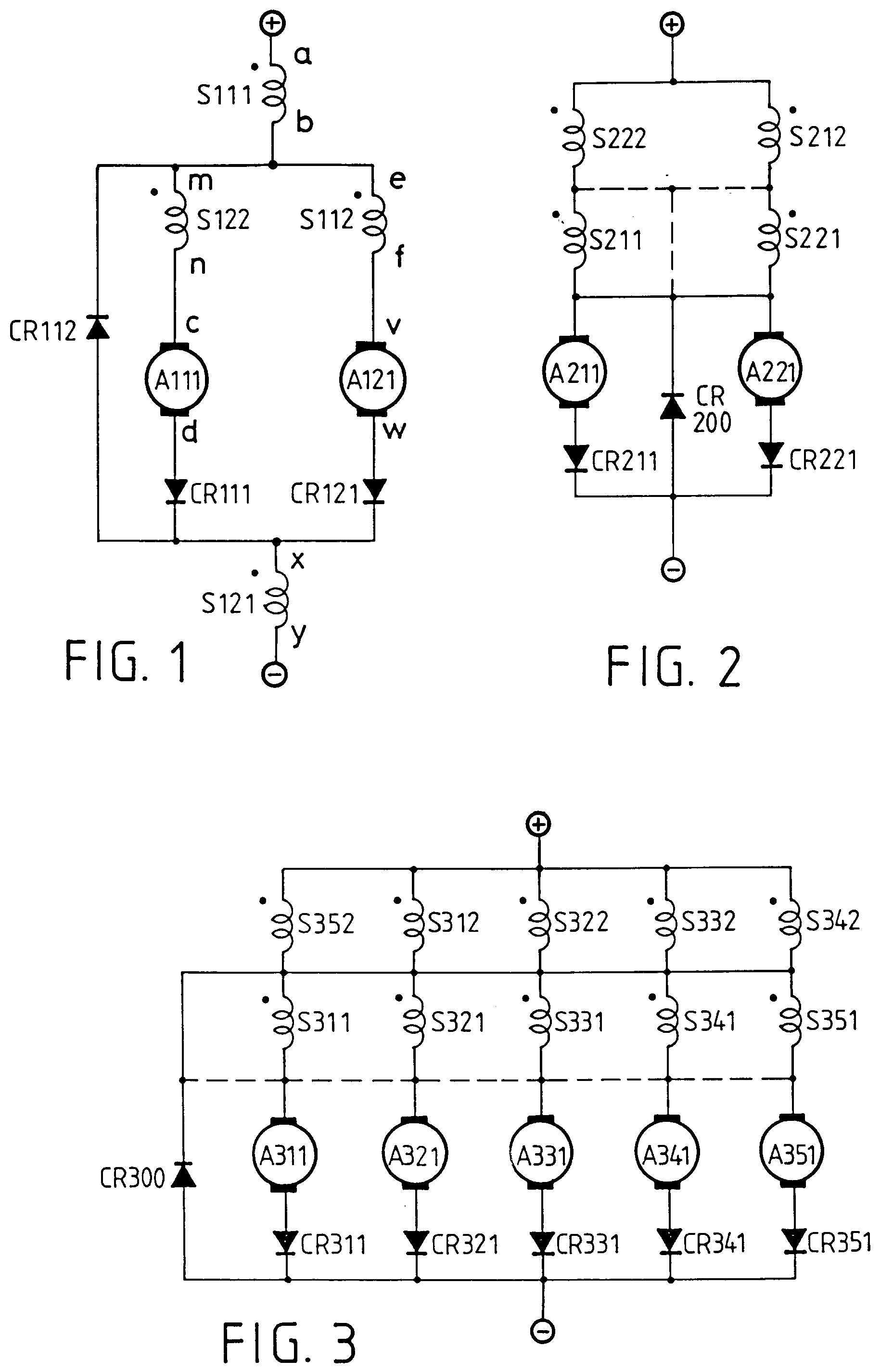 Patent Ep0776085a1 The Semi Cross Interlocked Circuit With Dc Series Motor Commutation Basiccircuit Diagram Drawing