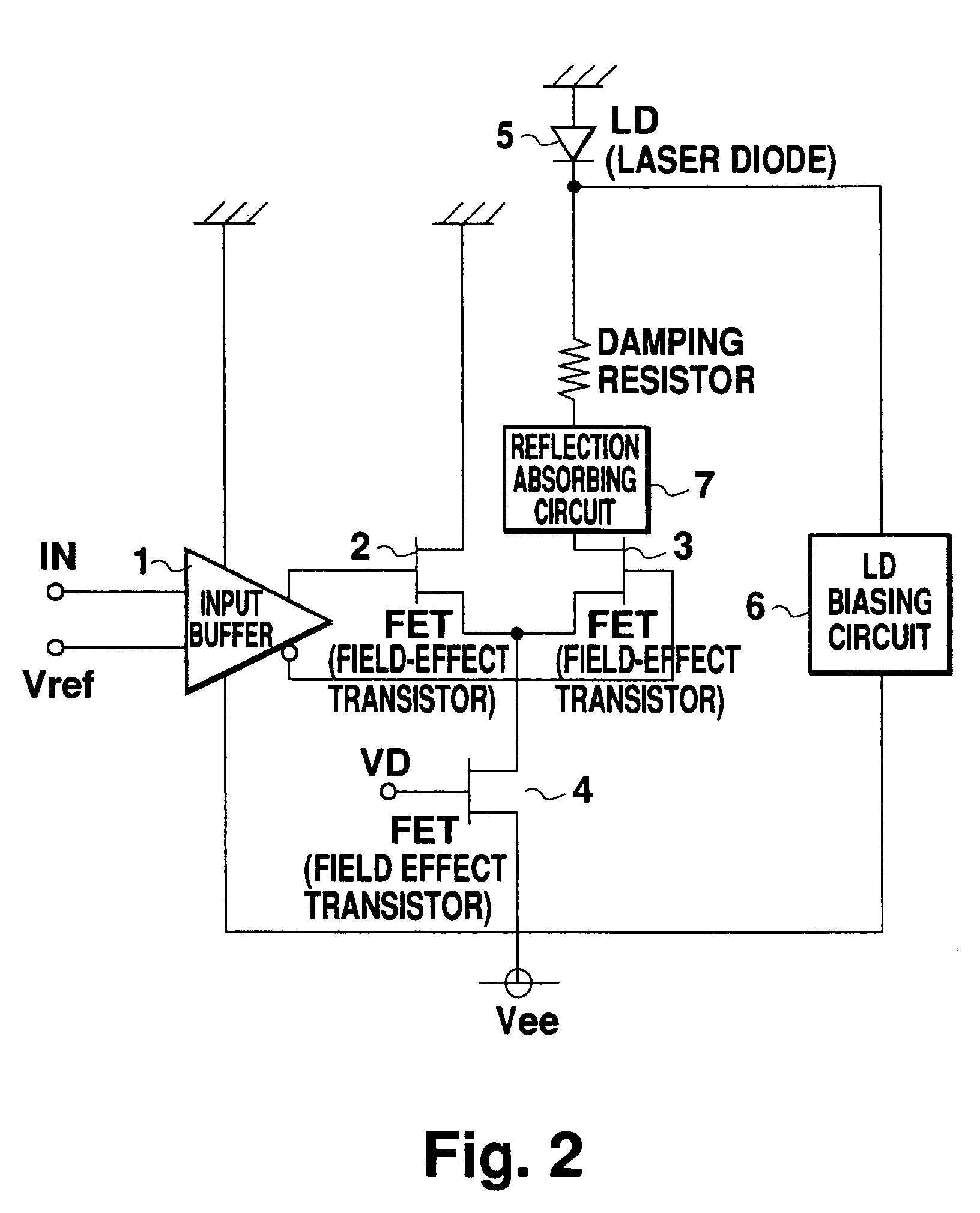 Patent Ep0785638a2 Optical Transmitter Google Patents Circuit Diagram Transistor Drawing