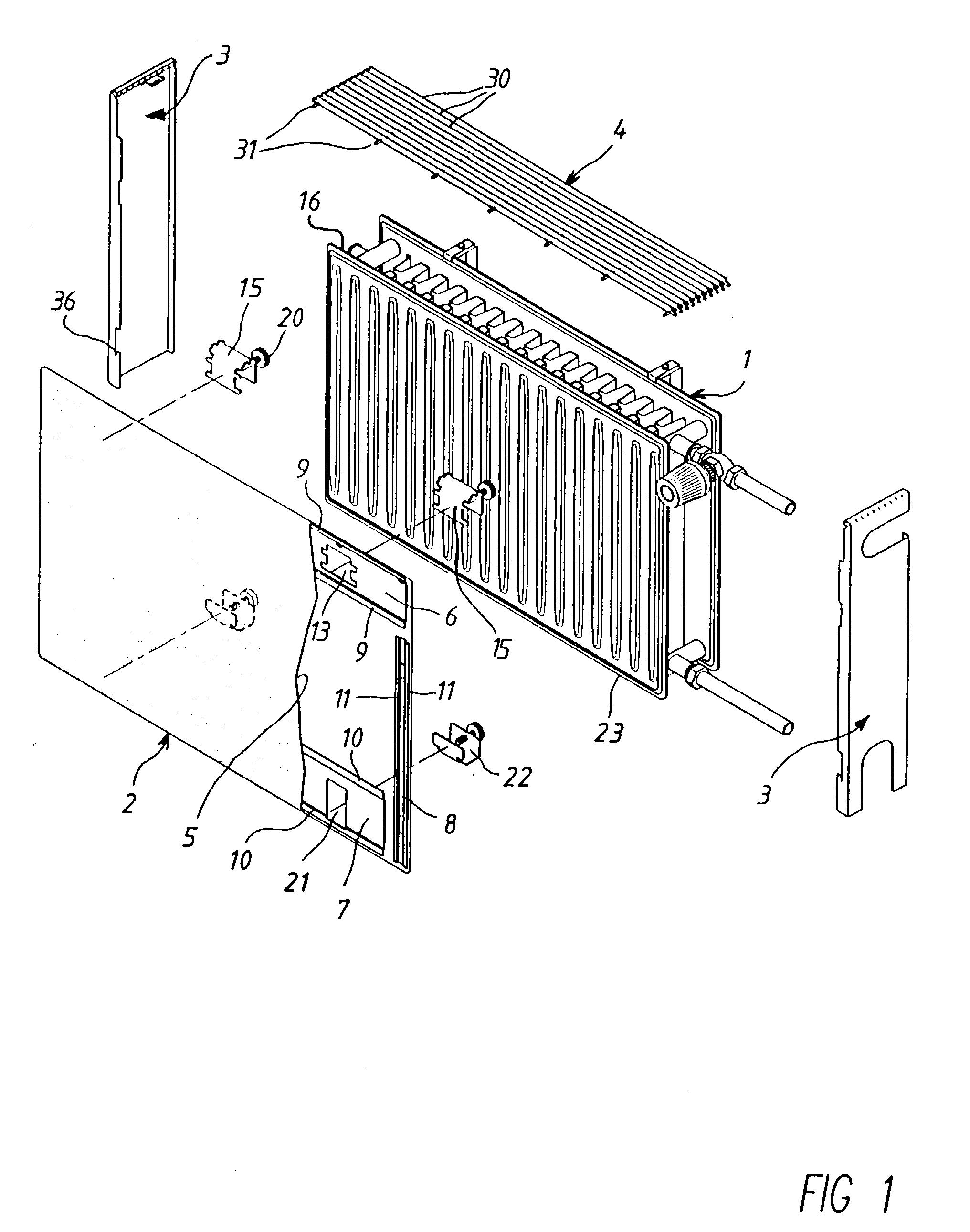patent ep0787955b1 verkleidung f r einen plattenheizk rper google patents. Black Bedroom Furniture Sets. Home Design Ideas