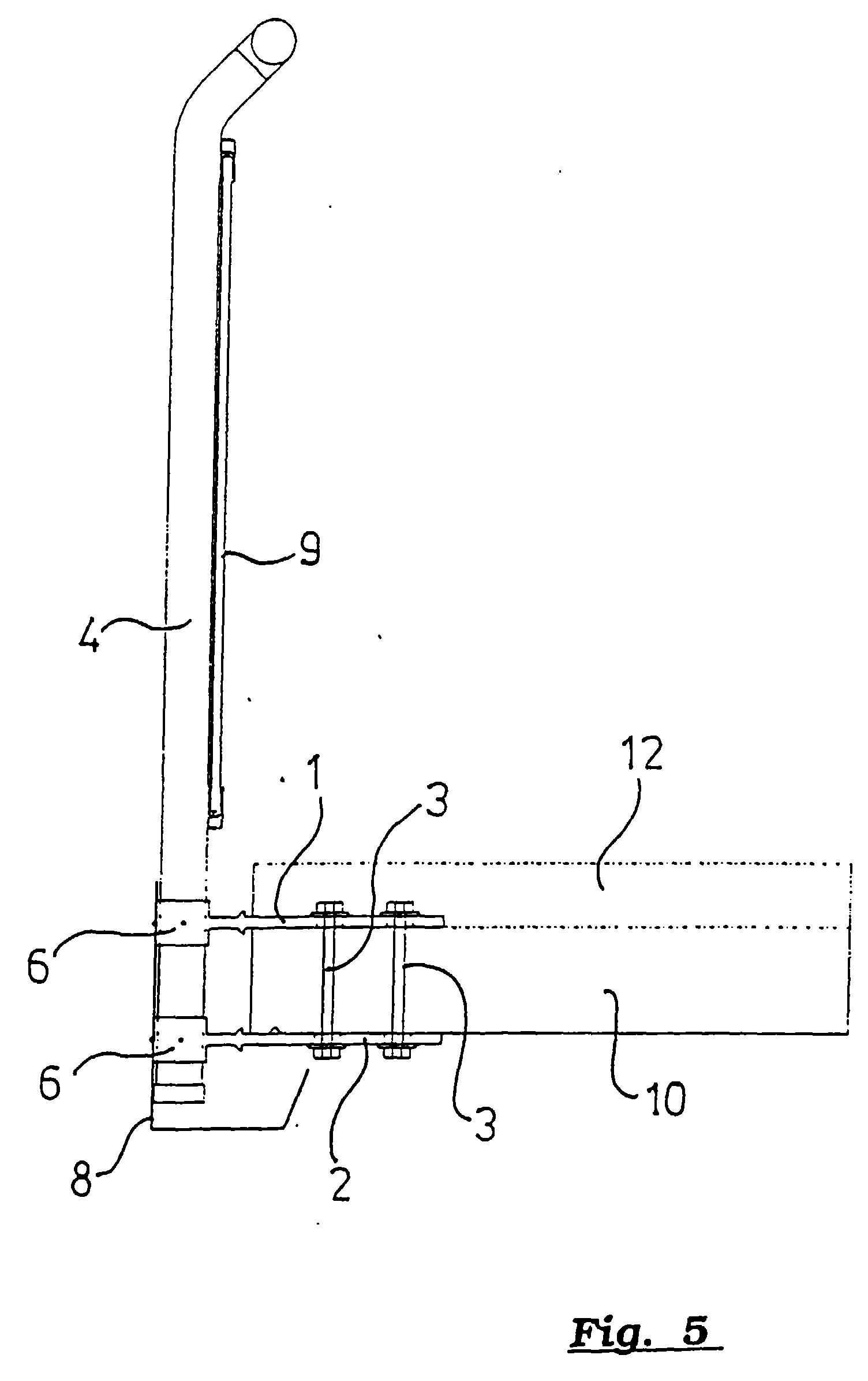 Balkongeländer Befestigung Unterseite patent ep0789114a1 verfahren und vorrichtung zur befestigung