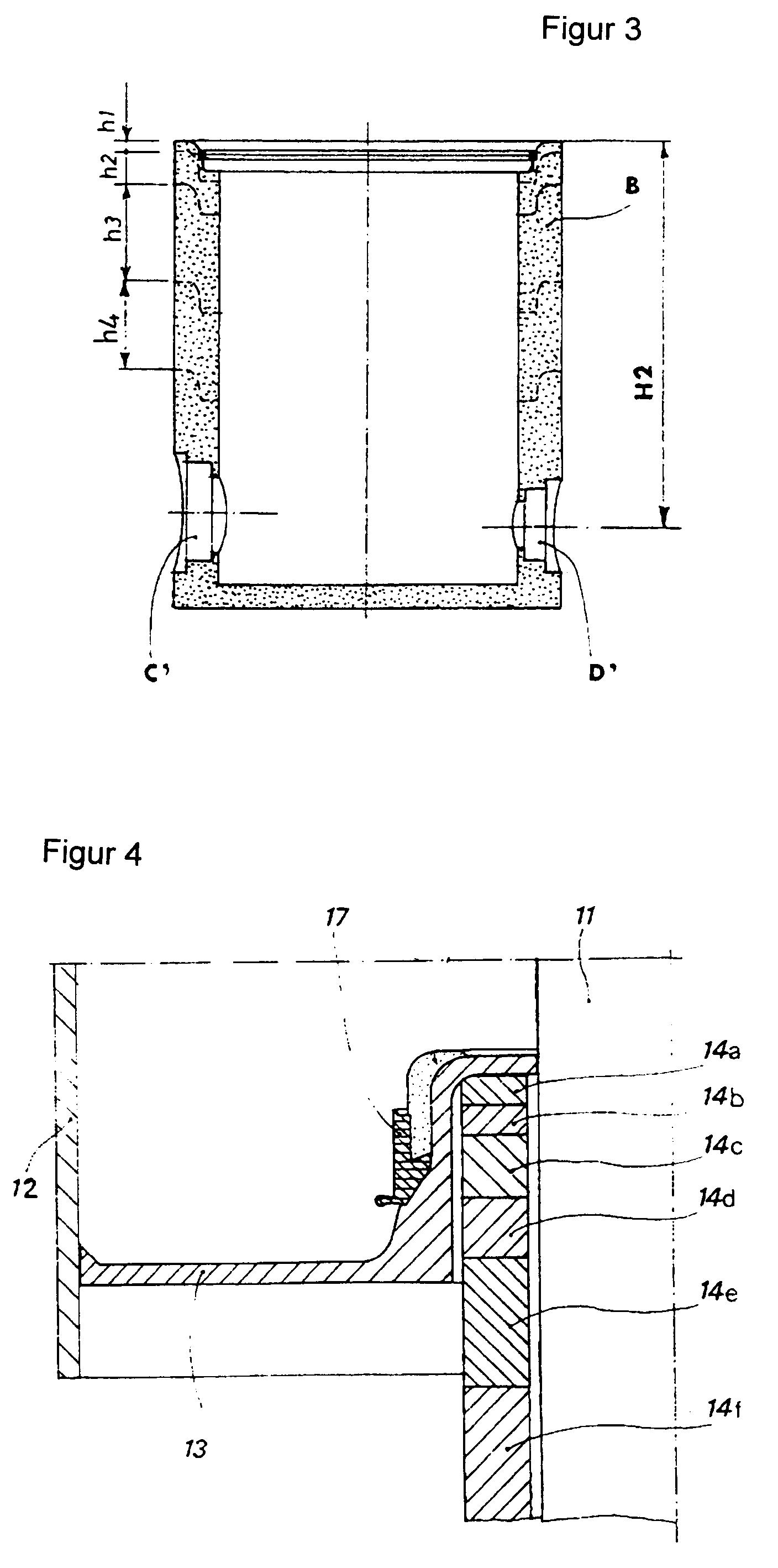 patente ep0791692a1 proc d de fabrication d 39 un puits de contr le et puits obtenu suivant ce. Black Bedroom Furniture Sets. Home Design Ideas
