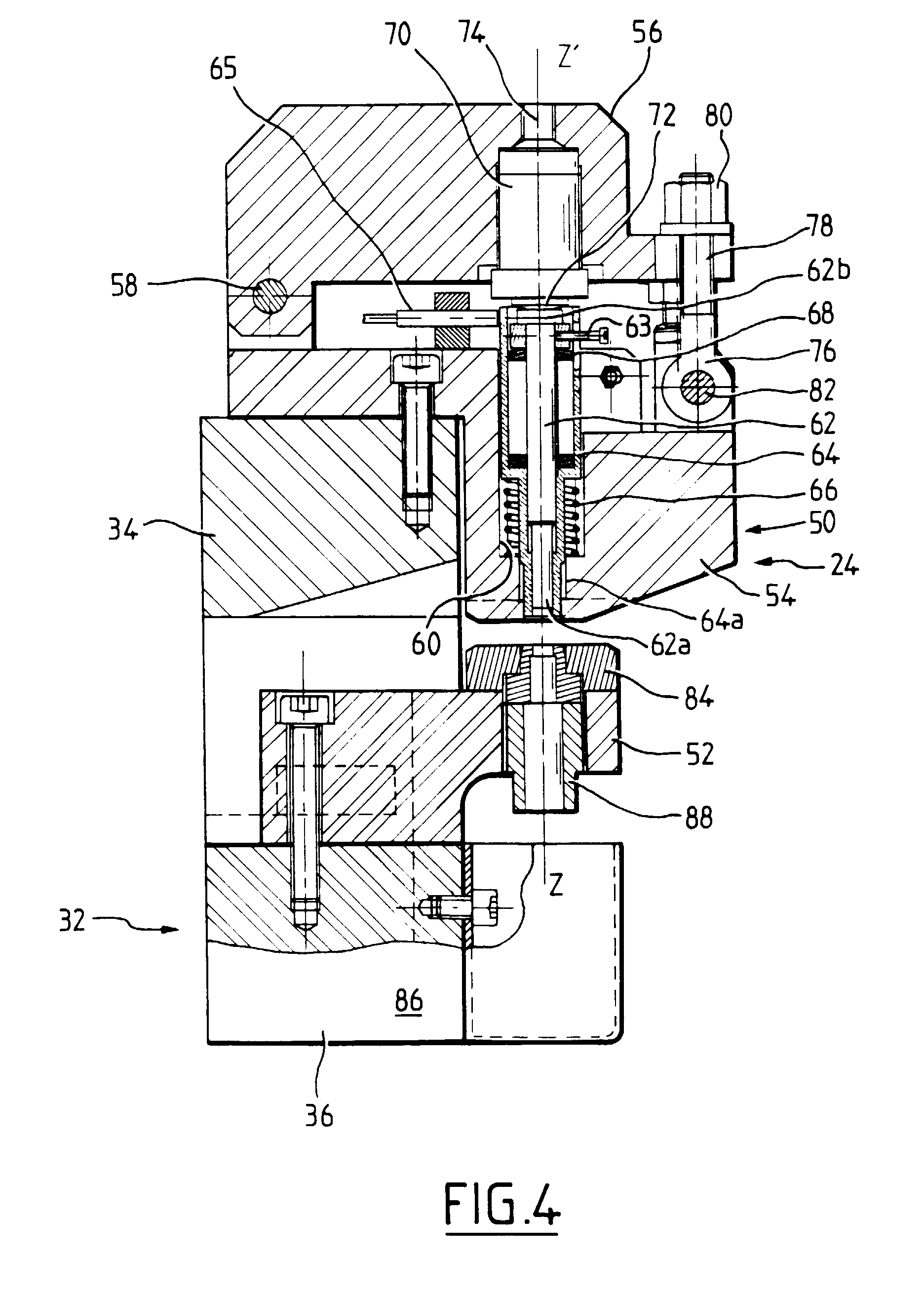 patent ep0819504a1 - apparatus for punching printed circuit boards