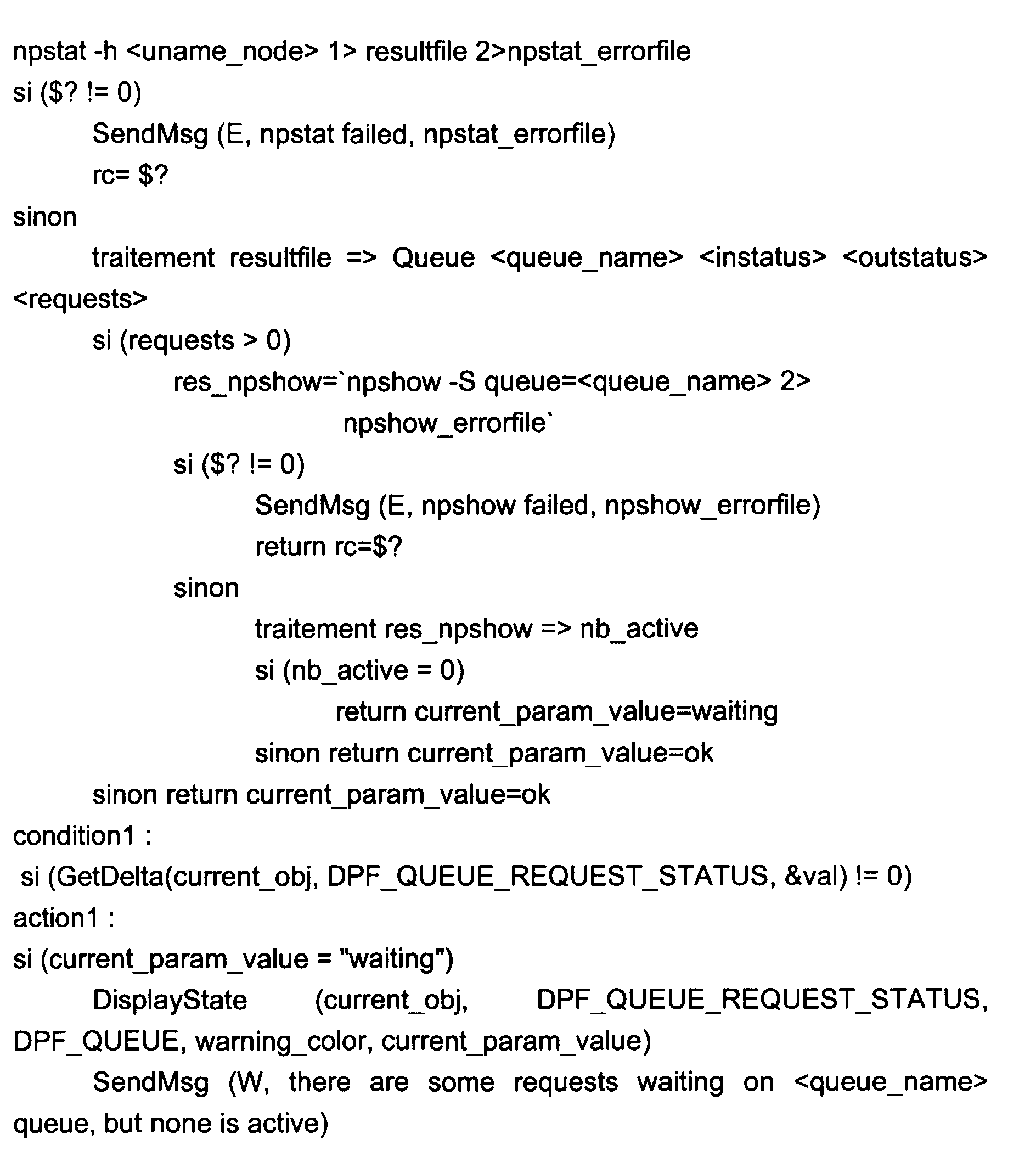 Patent ep0822498a1 procedure for monitoring a plurality for Ep ptable queue proc