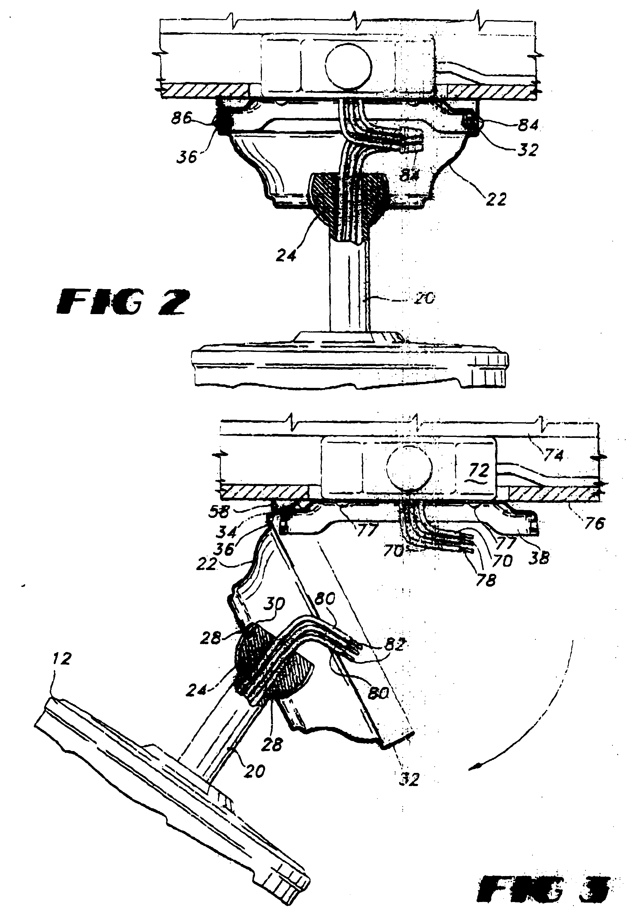 patent ep0823556a2 - ceiling fan hanging system