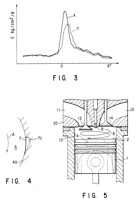 Patent ep0828066b1 chambre de combustion d 39 un moteur for Chambre de combustion moteur