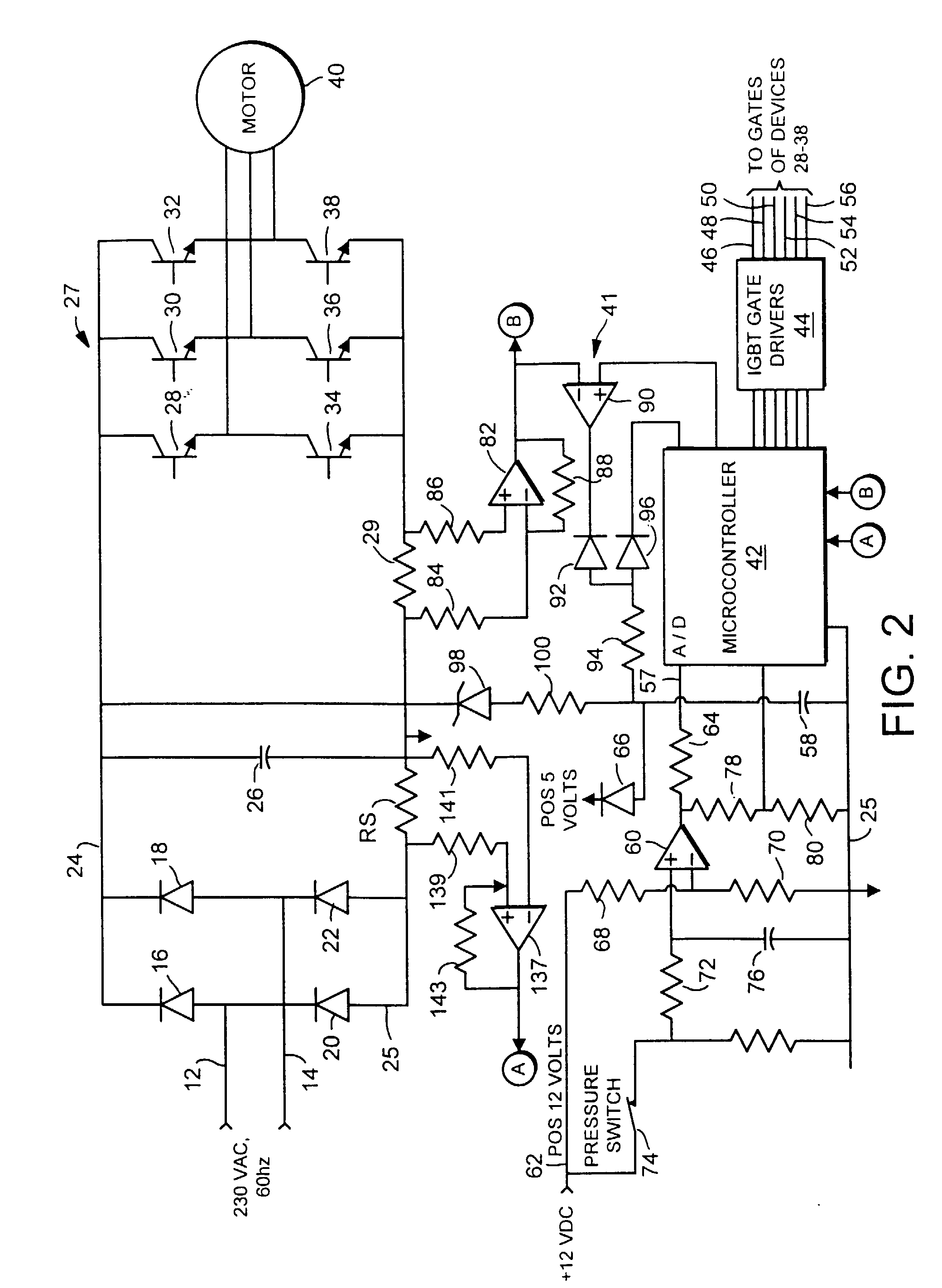 patent ep0833436a2 - ac motor control for a high speed deep well pump