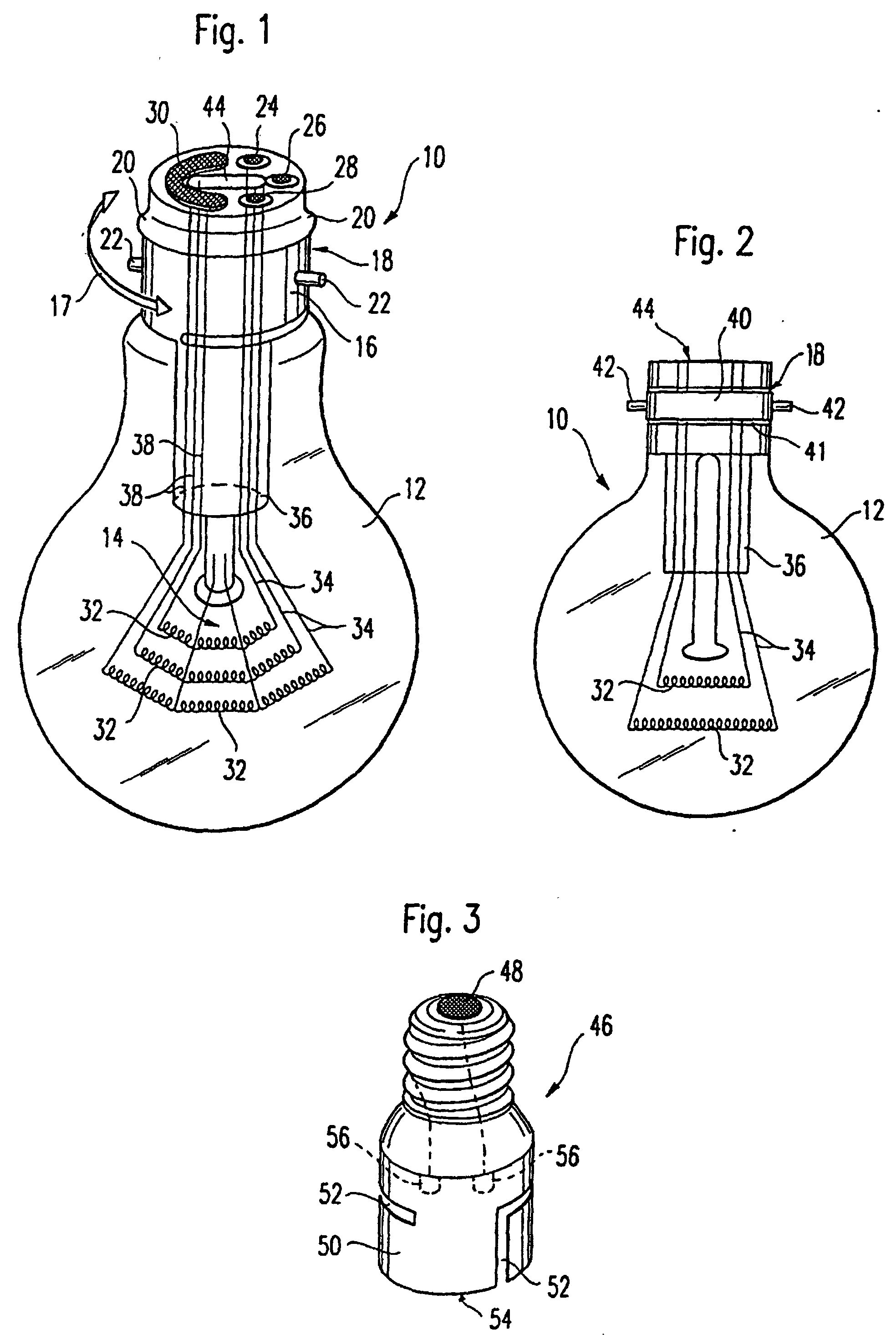 patent ep0850488b1 - re-usable light bulb