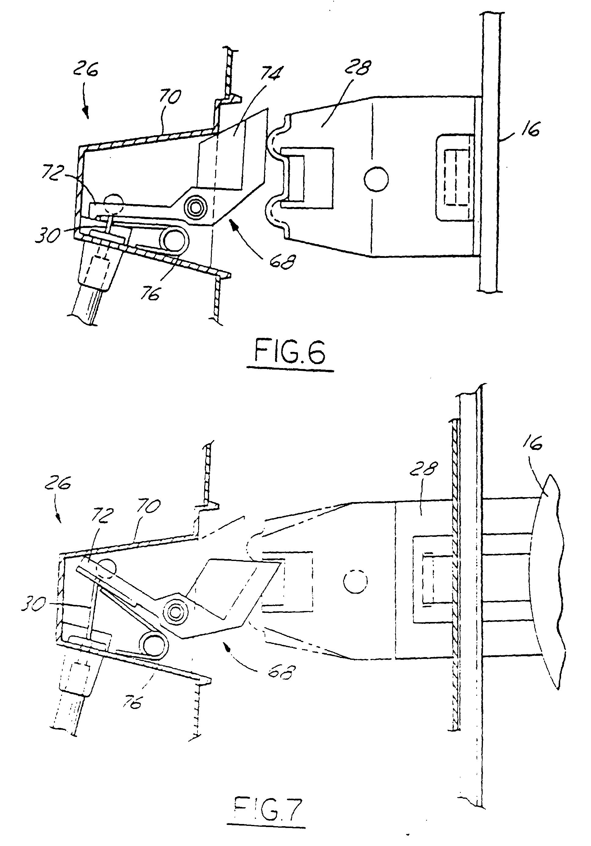 ford edge door latch sensor