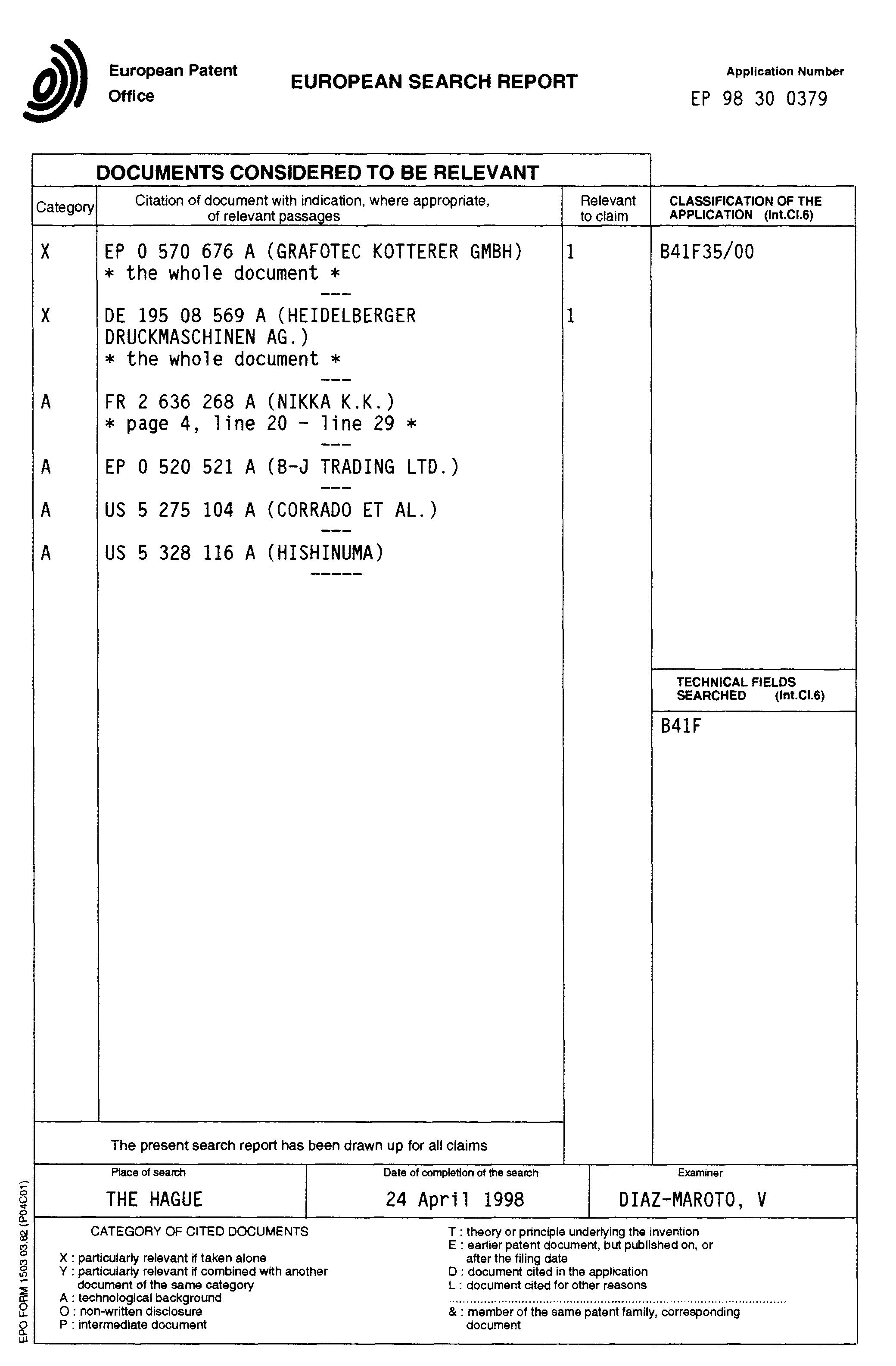 patent ep0855269a1 - verfahren zum reinigen der oberfläche eines