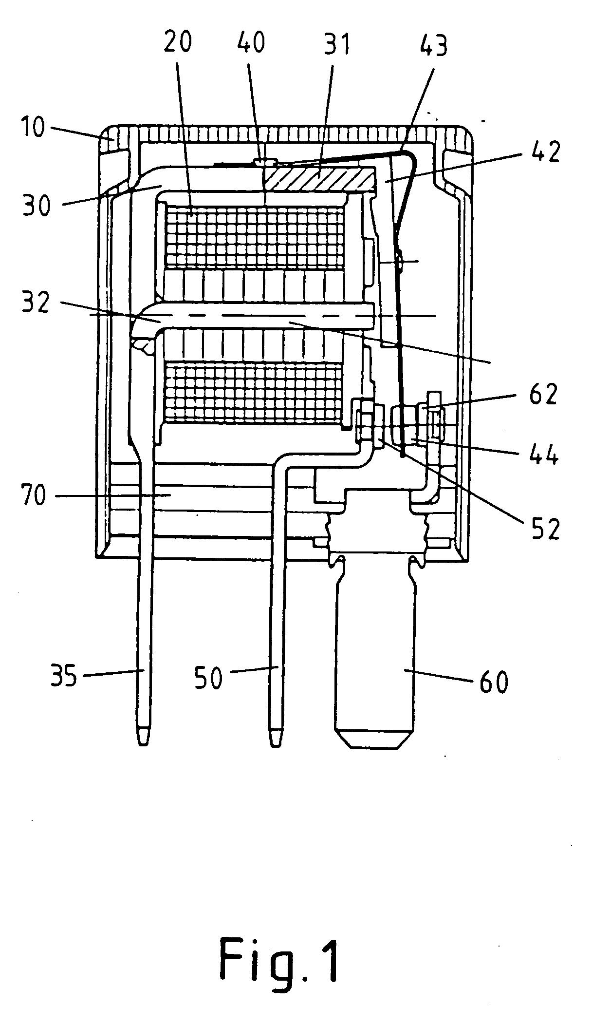 专利ep0855730a2 - elektrisches schaltger01t und