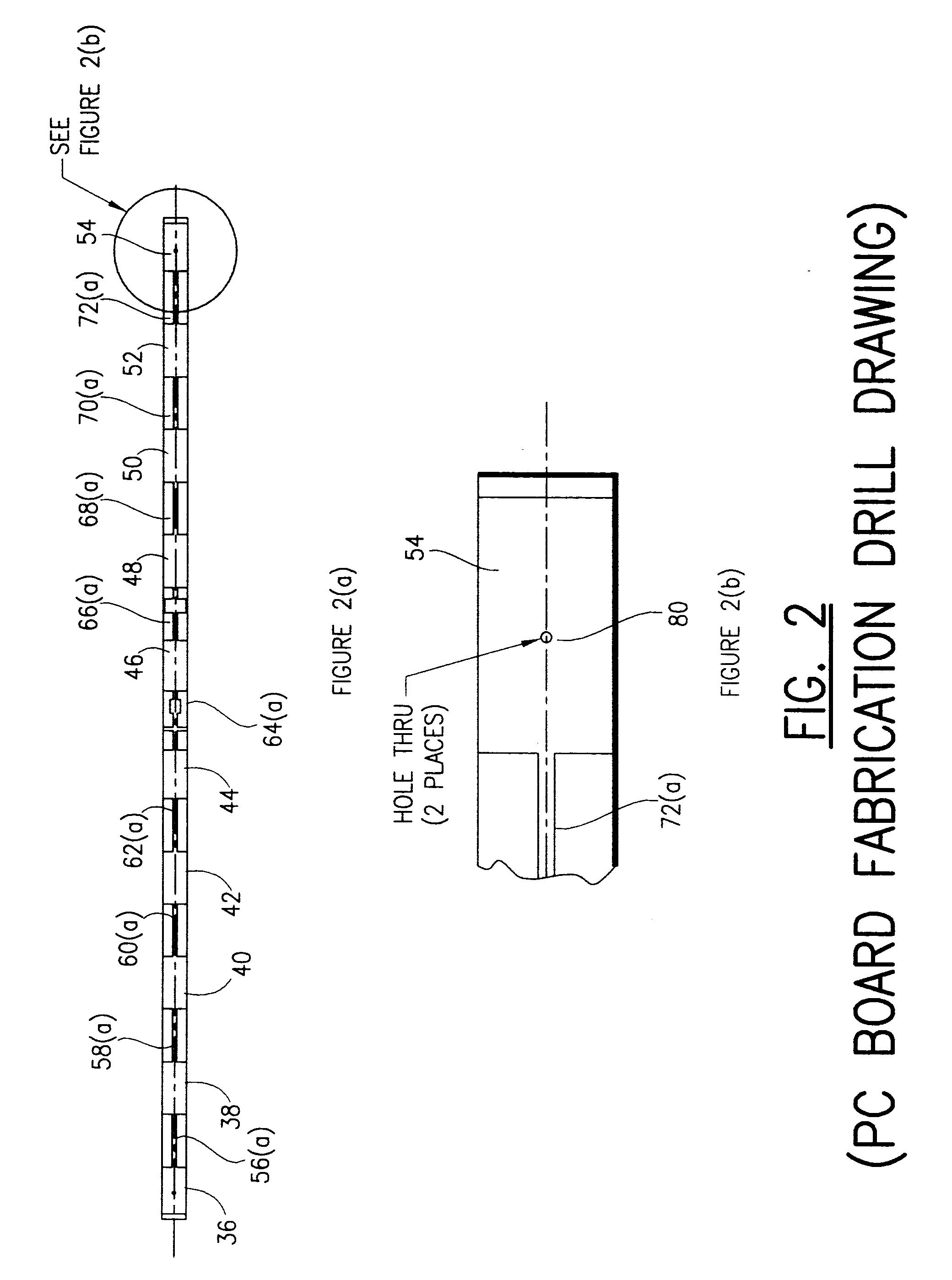 patent ep0855760a2 - microstrip collinear antenna
