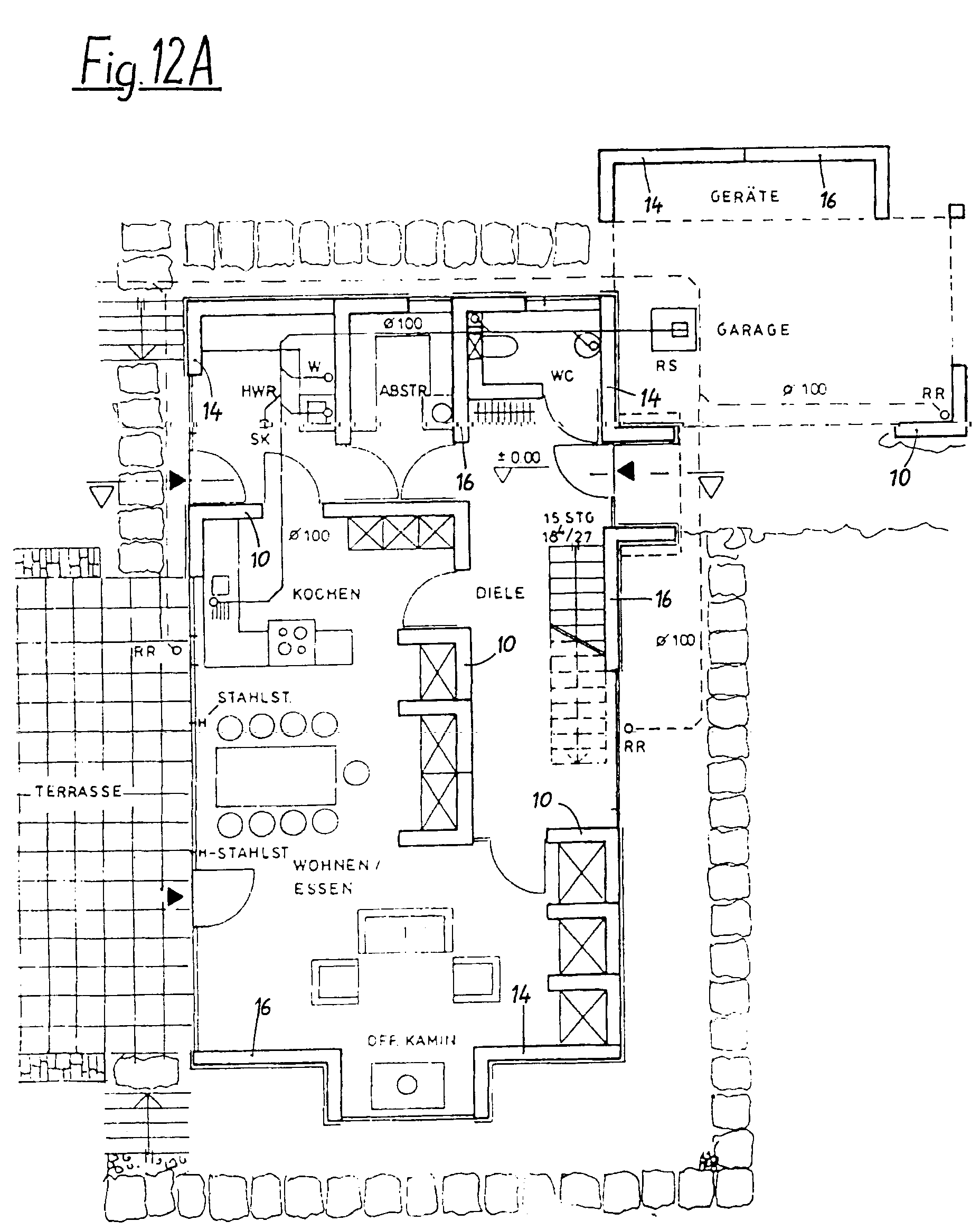 Patent EP0863270A1 - Set of wall elements for buildings - Google ...