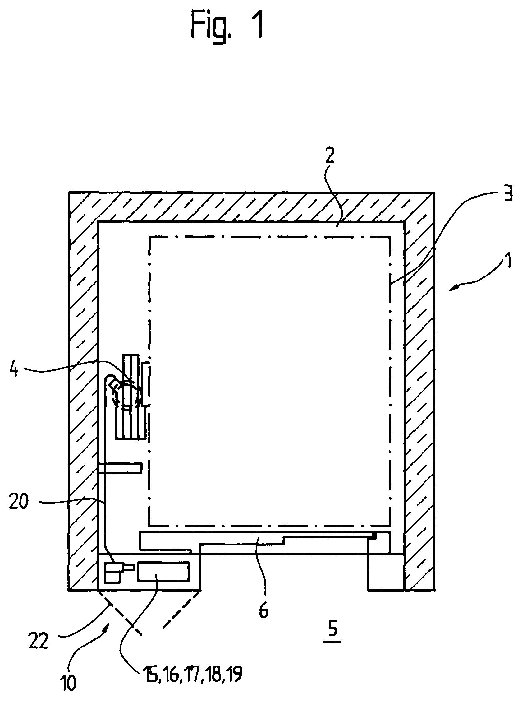 patent ep0867396a1 - hydraulic elevator