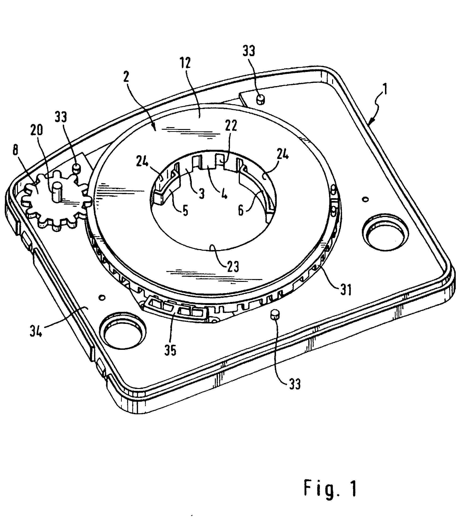patent ep0874974b1 aufbau eines lenkwinkelsensormoduls. Black Bedroom Furniture Sets. Home Design Ideas