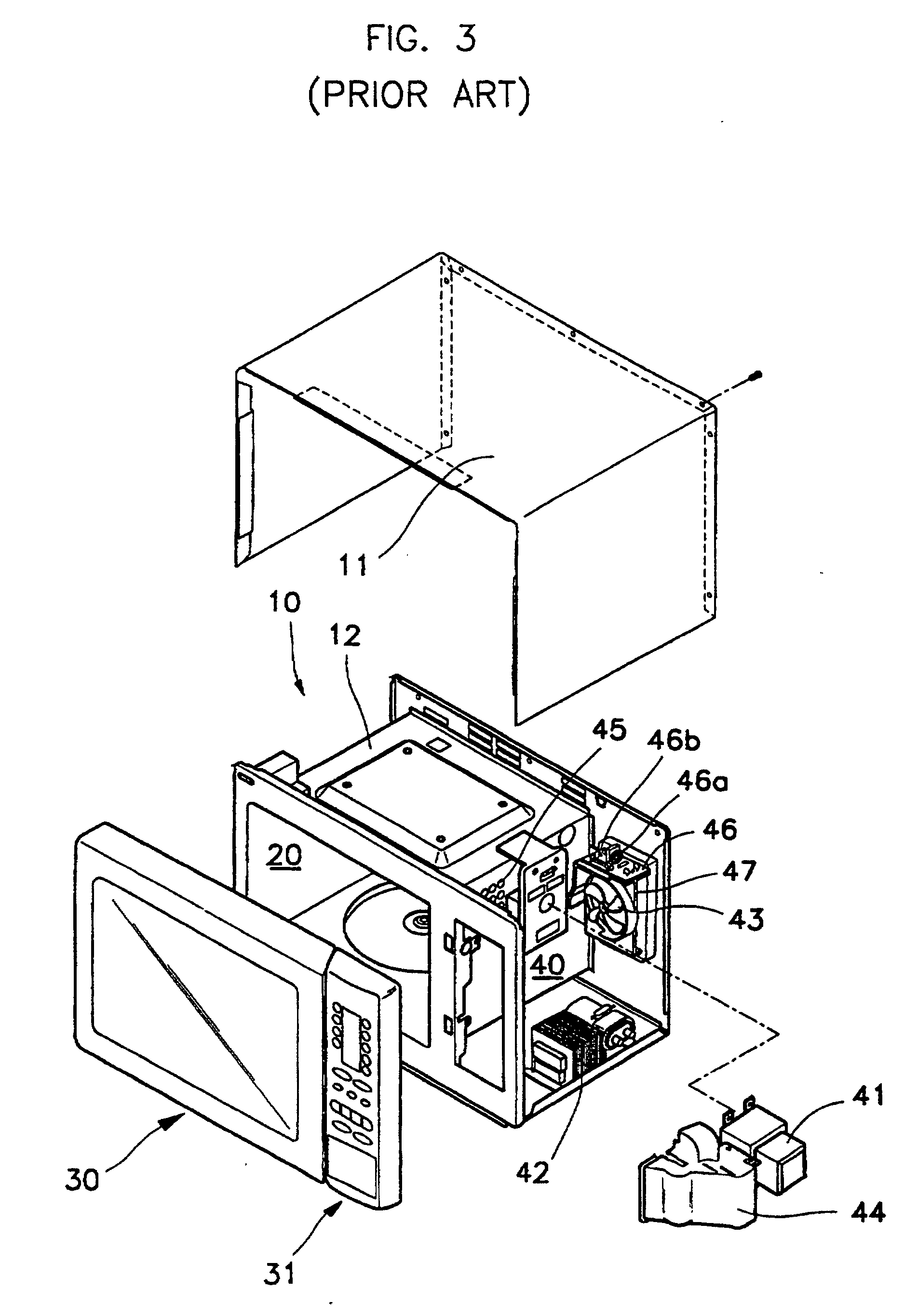 patent ep0875723b1 - microwave oven