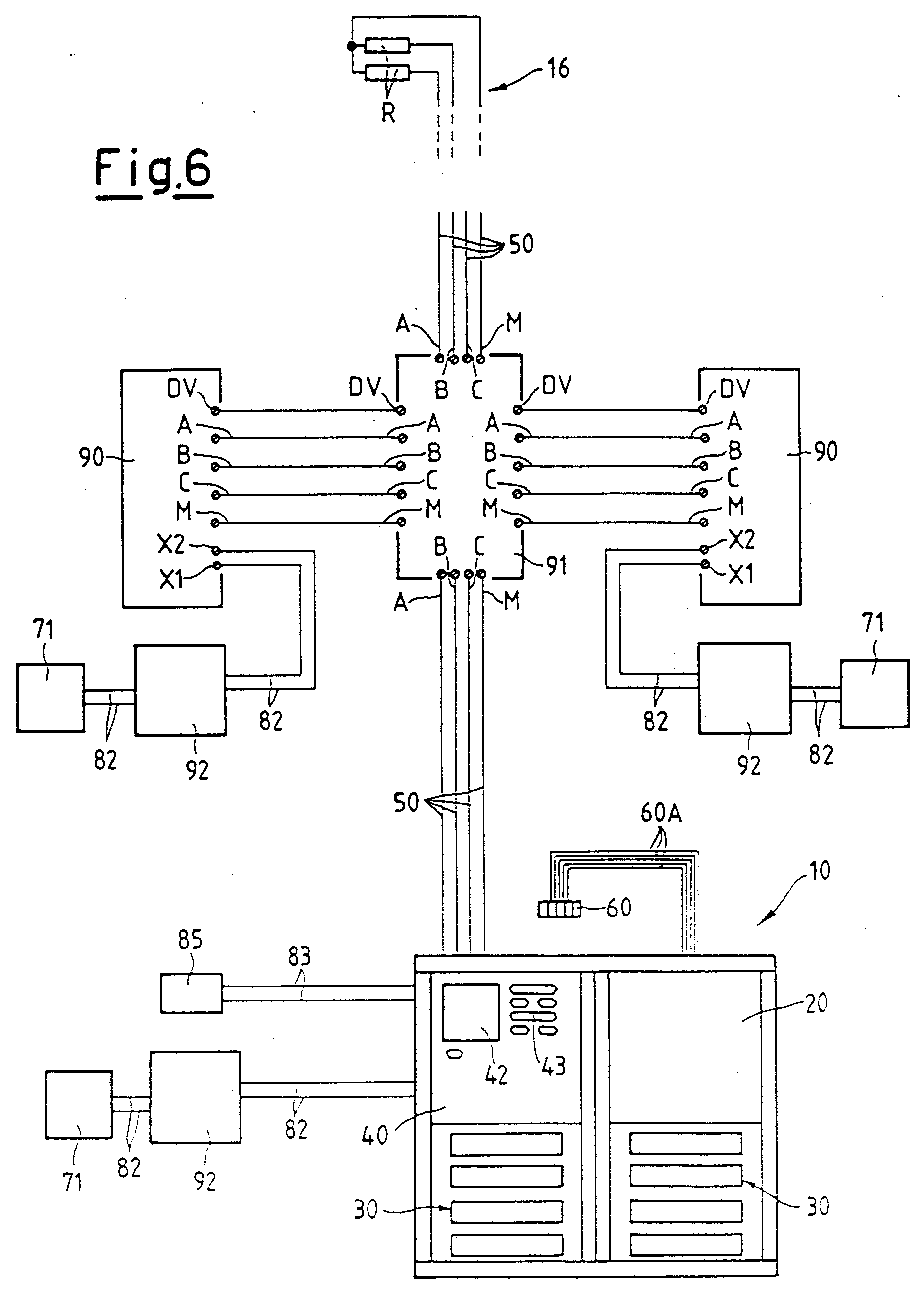 00150001 patent ep0876044a2 electric connection system for intercom and wiring diagram for intercom system at mifinder.co