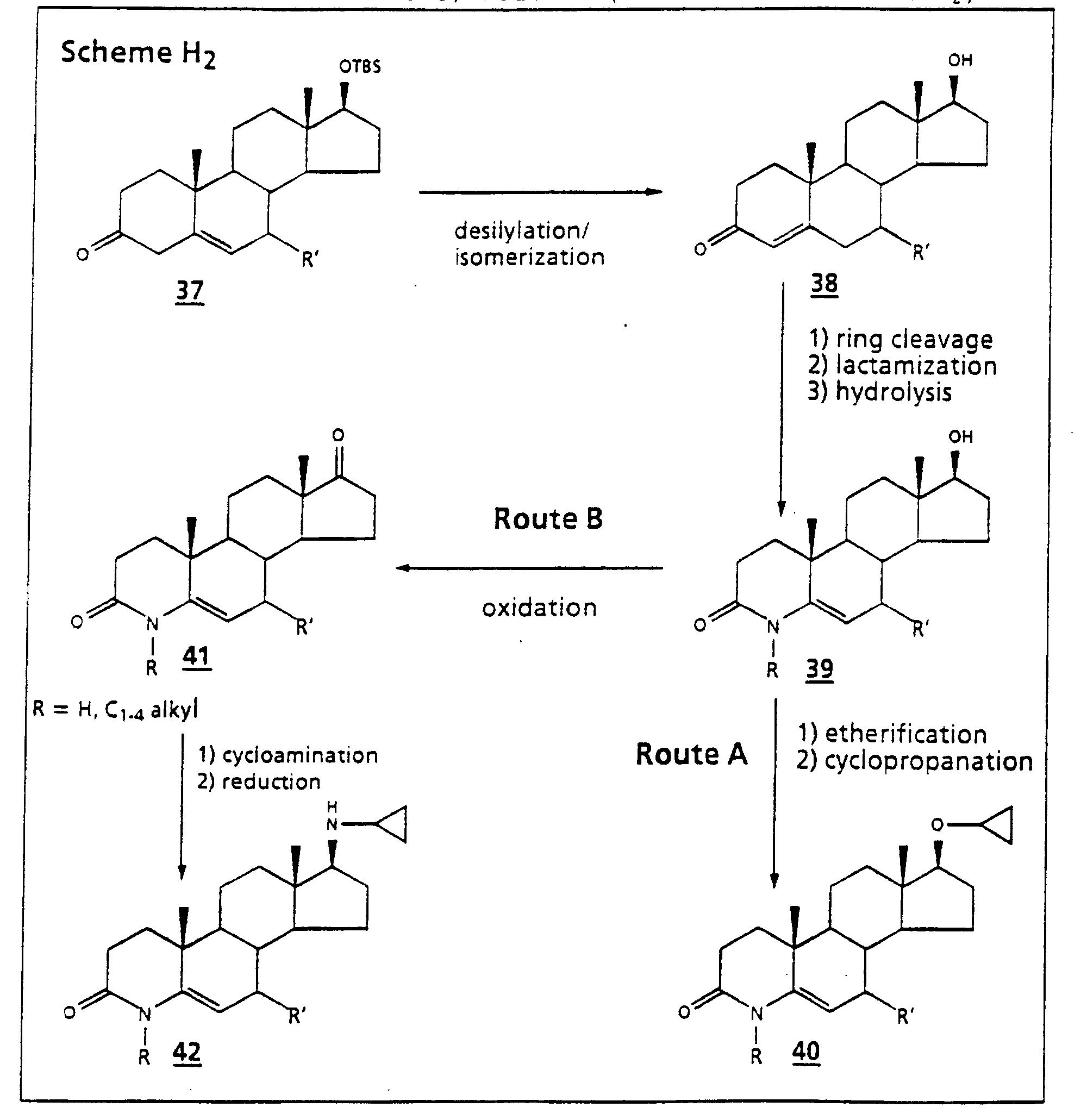 21 amino steroids