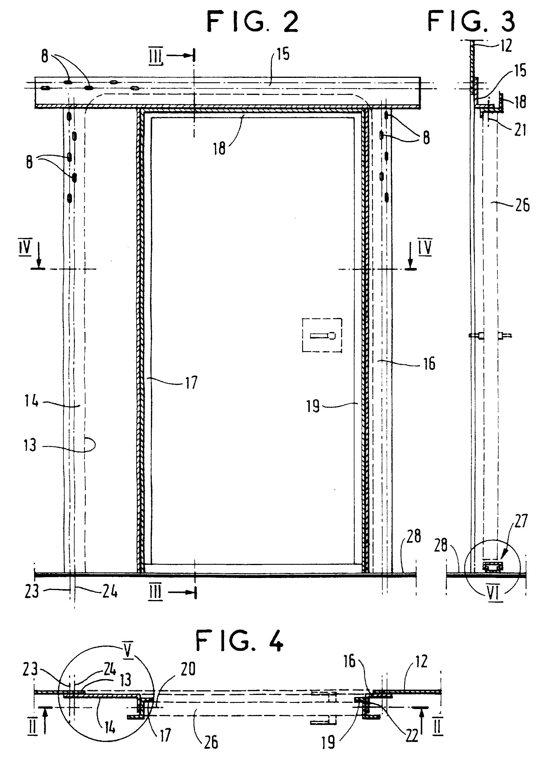 Patent ep0882542a1 disposition de montage d 39 une porte - Ouverture d une porte ...