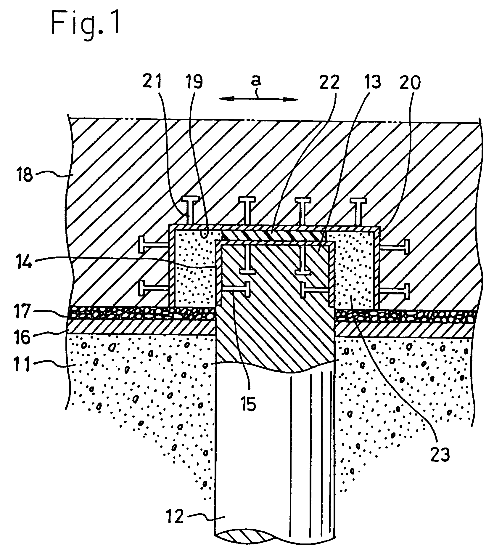 Pile Foundation Drawing : Patent ep a structure of pile foundation google