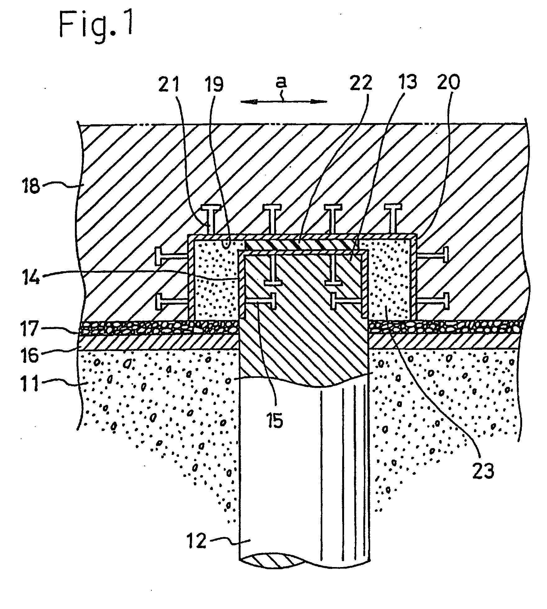 patent ep0894900b1 structure de fondation sur pieux google patents. Black Bedroom Furniture Sets. Home Design Ideas