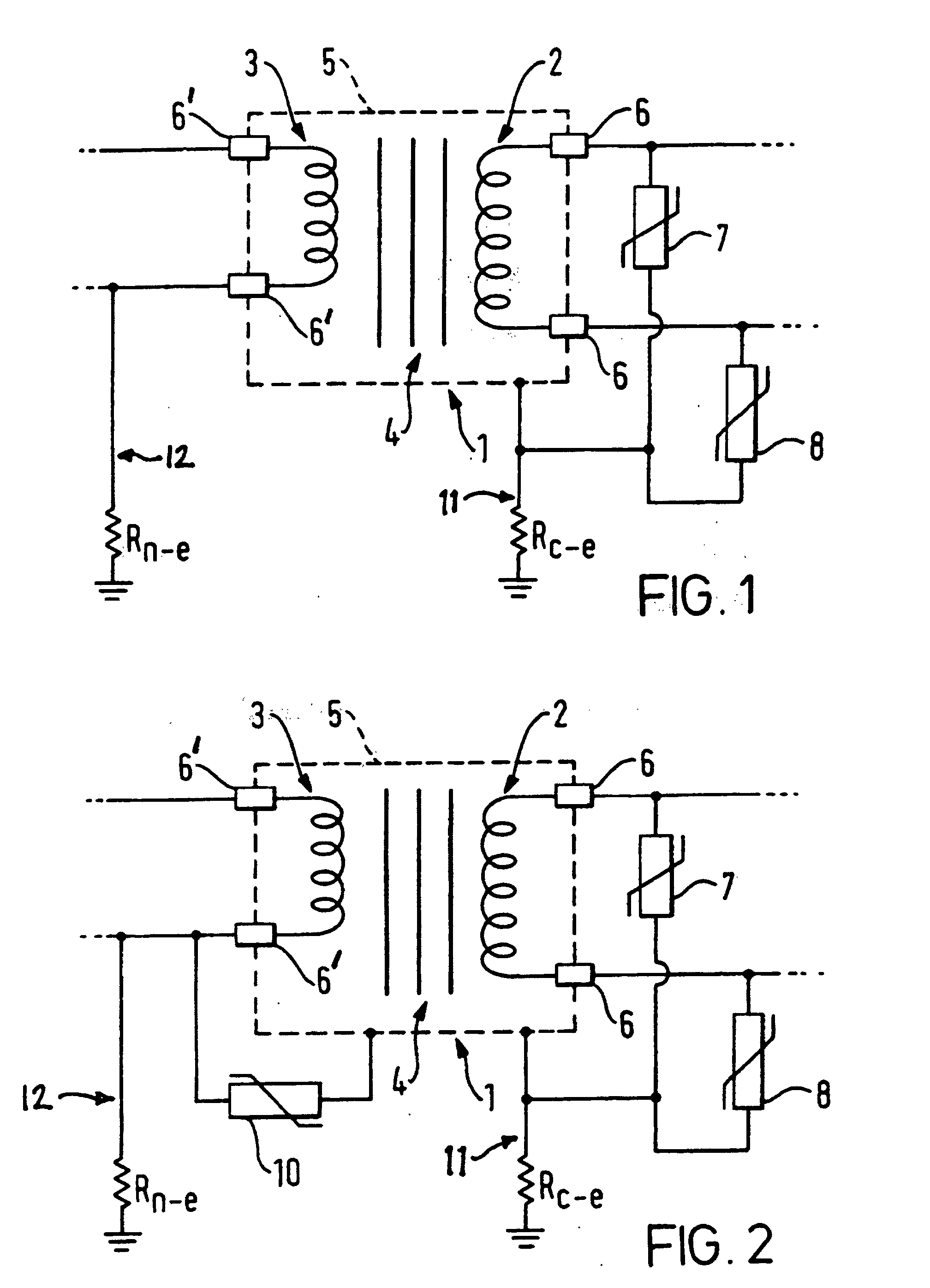 patent ep0902998b1 - transformer with protection device
