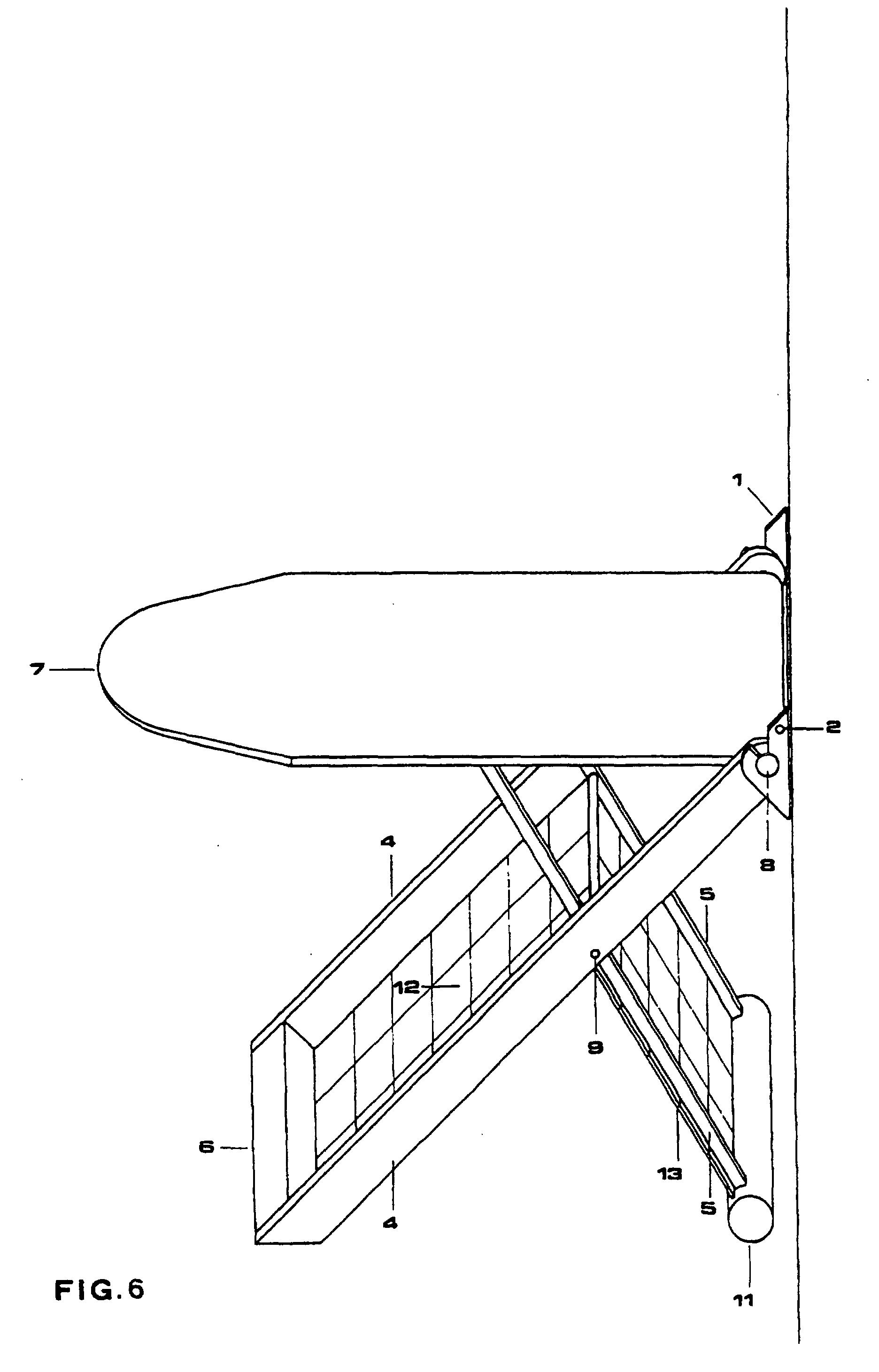patente ep0907784b1 platzsparendes zusammenfaltbares an. Black Bedroom Furniture Sets. Home Design Ideas