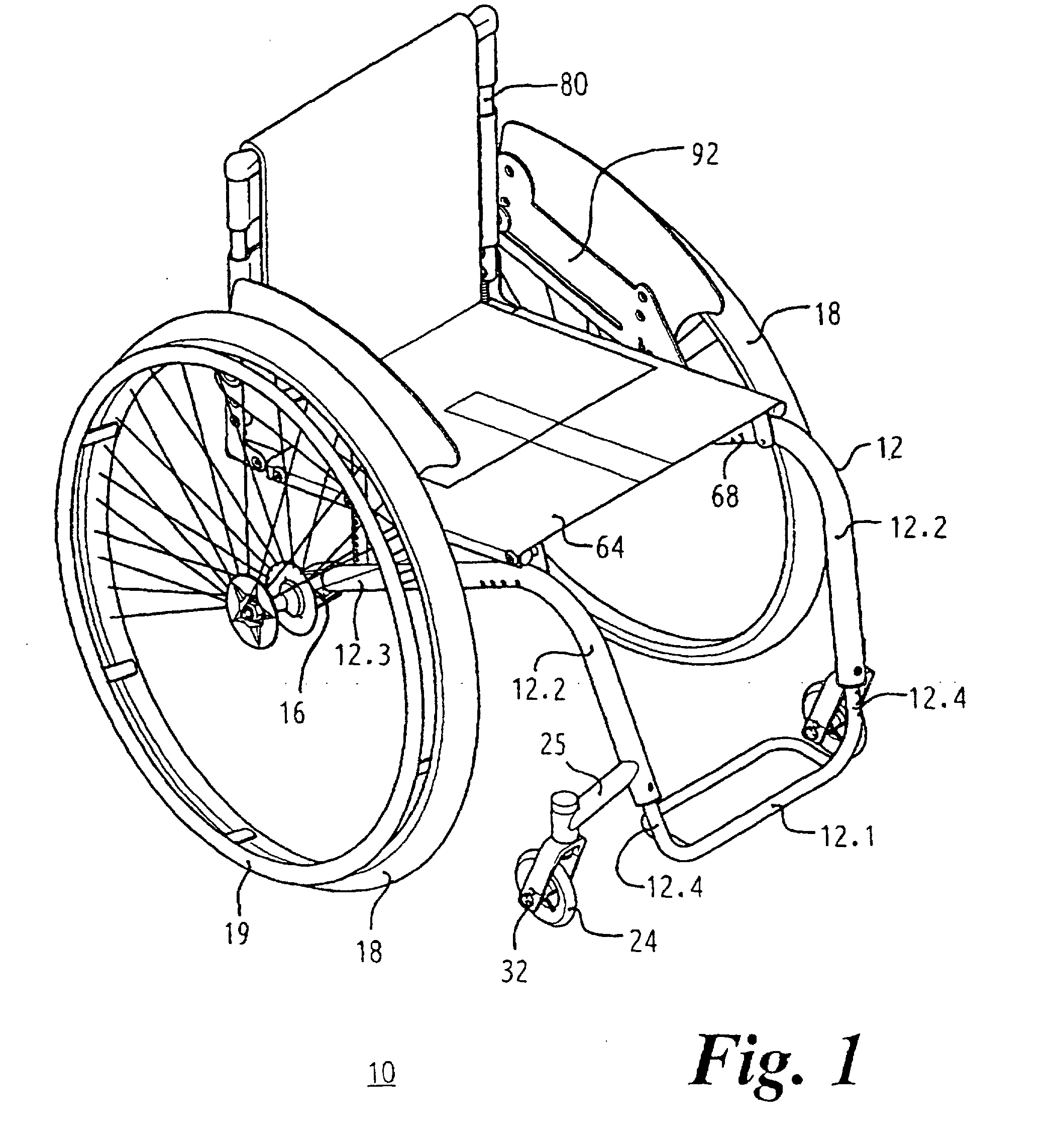 patent ep0911009b2 fauteuil roulant avec cadre ferm 233 en trois dimensions patents