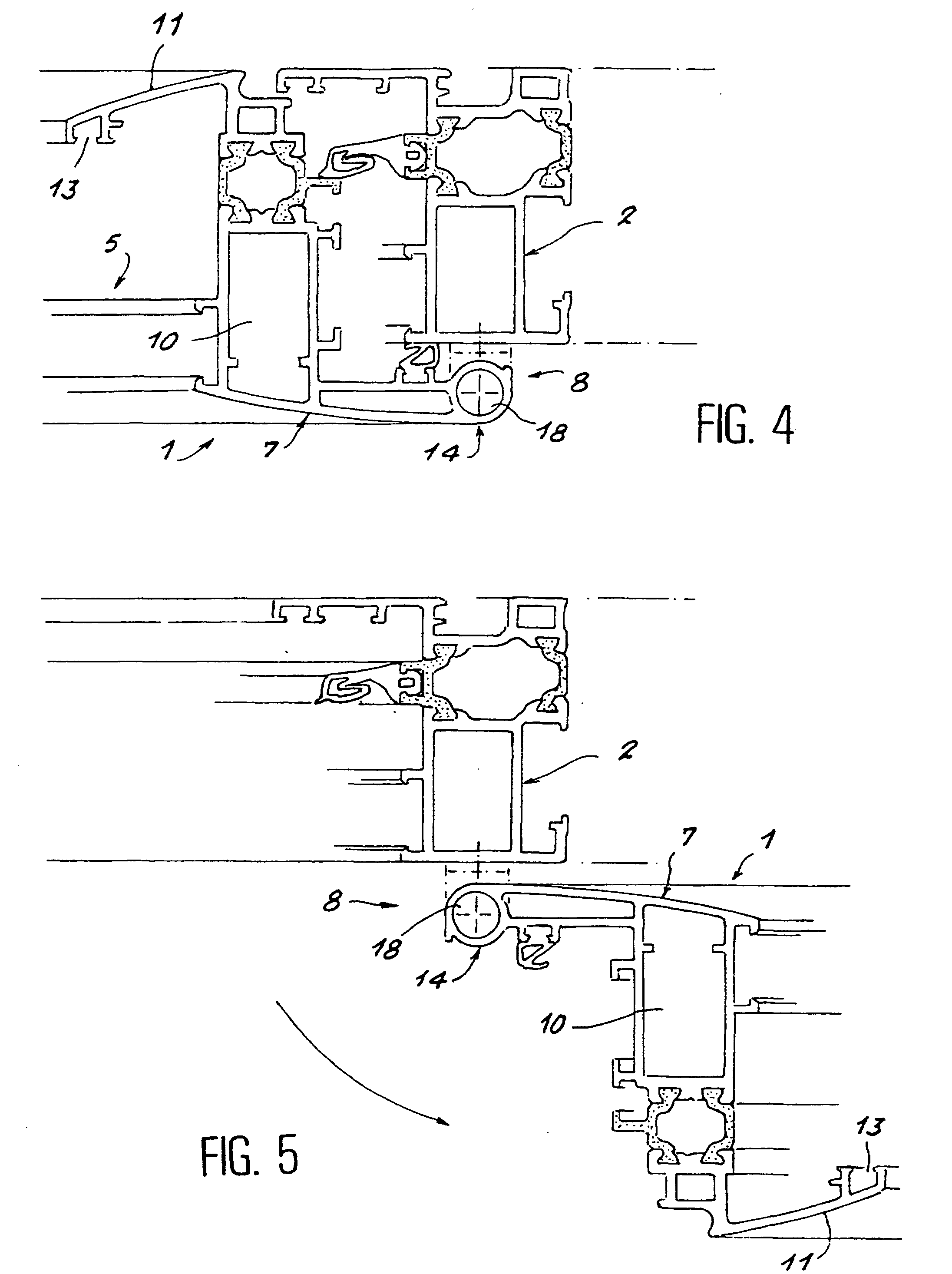 Patent ep0911477b1 huisserie de porte fen tre ou for Huisserie fenetre