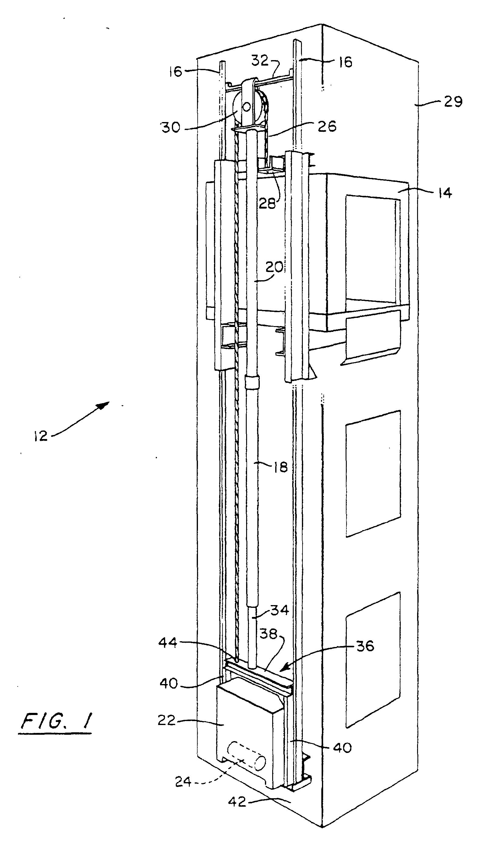 patent ep0924155b2 ascenseur hydraulique sans salle des. Black Bedroom Furniture Sets. Home Design Ideas