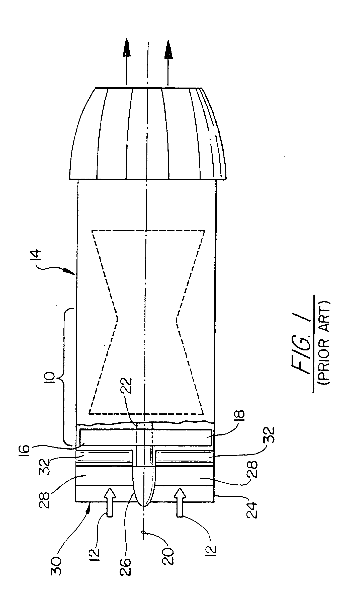Patent EP B1 Variable inlet guide vane for a gas turbine