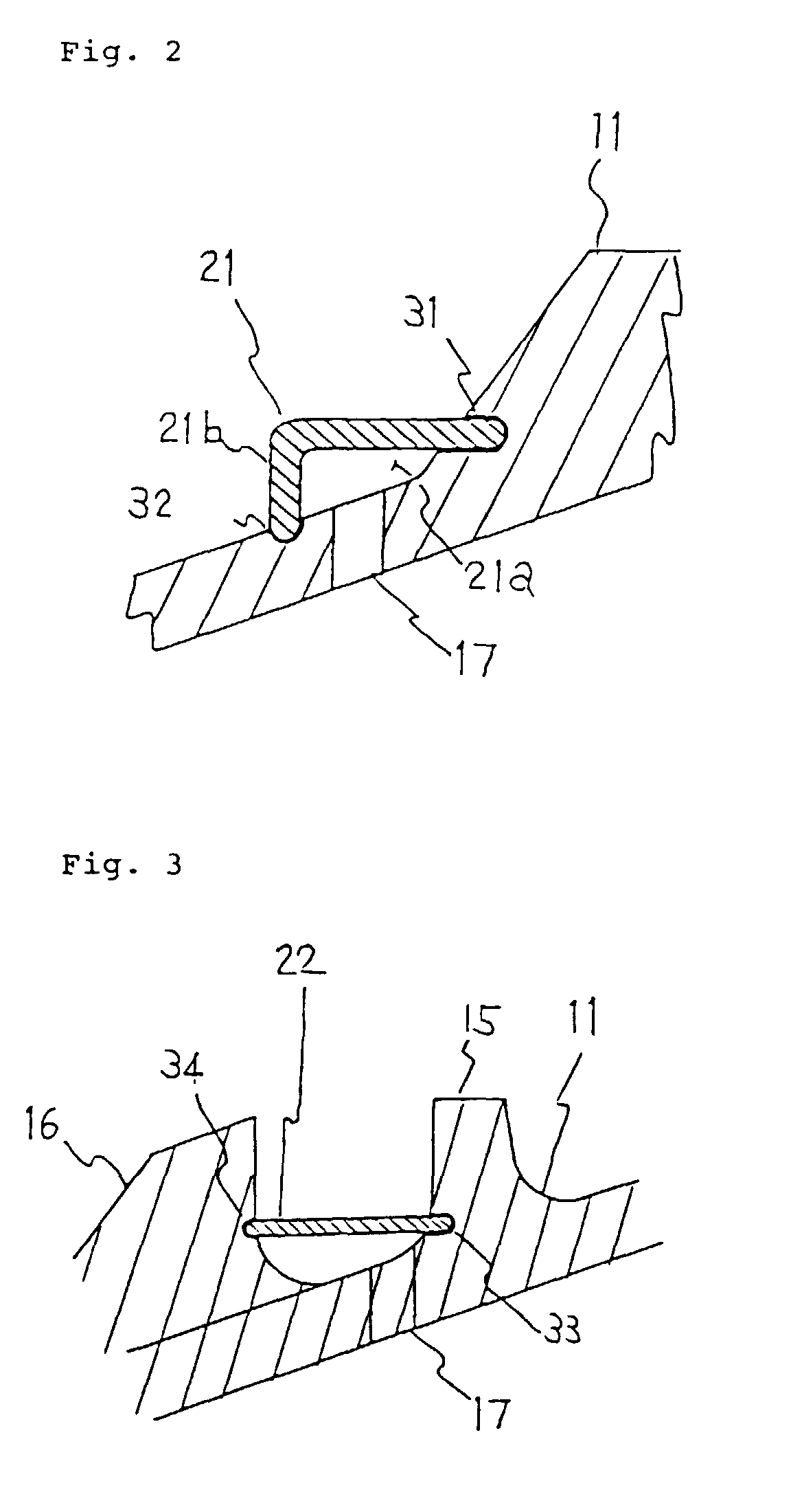 Patent EP A1 Tip shroud for moving blades of gas turbine