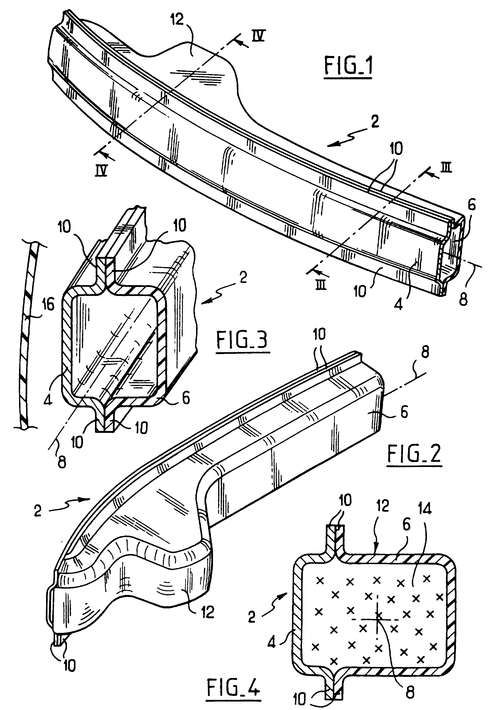 Patent ep0937611a1 motor vehicle bumper beam google for Ouverture pvc