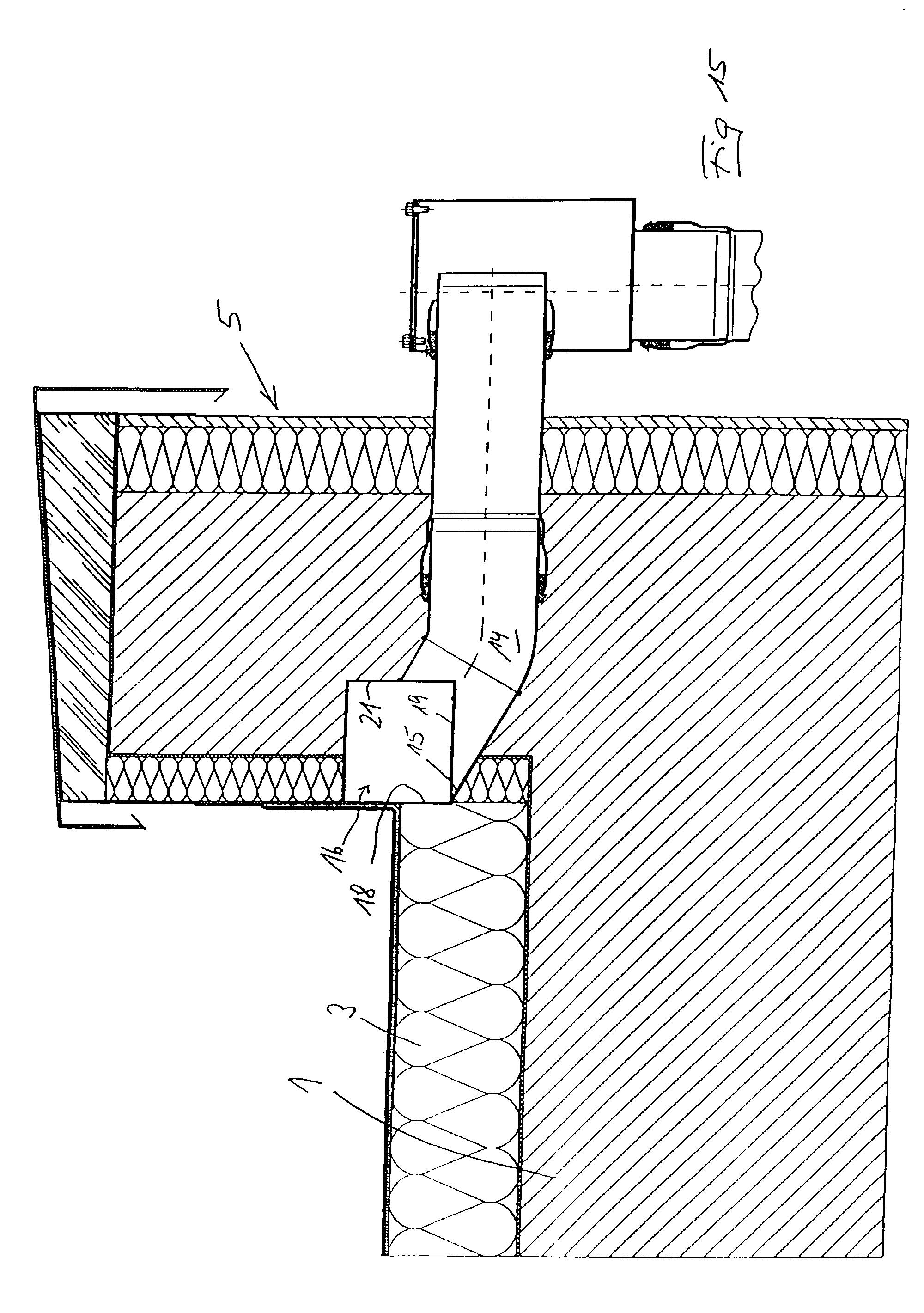 Fallrohr flachdach  Patent EP0940520A2 - Flachdach-Wasserablauf und Flachdach mit ...