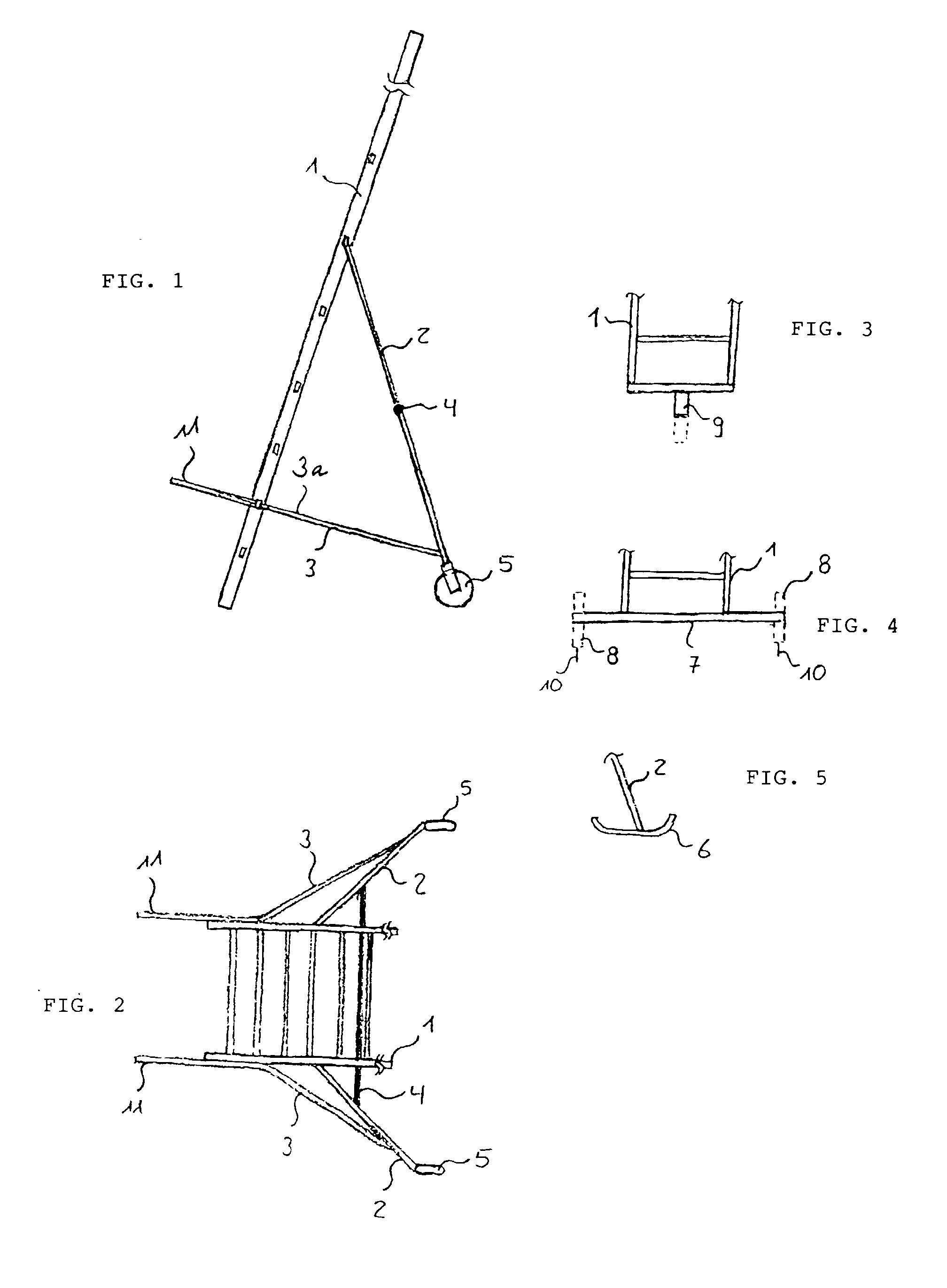 Patent ep0940555a2 freistehende leiter google patents for Stabiles dreieck