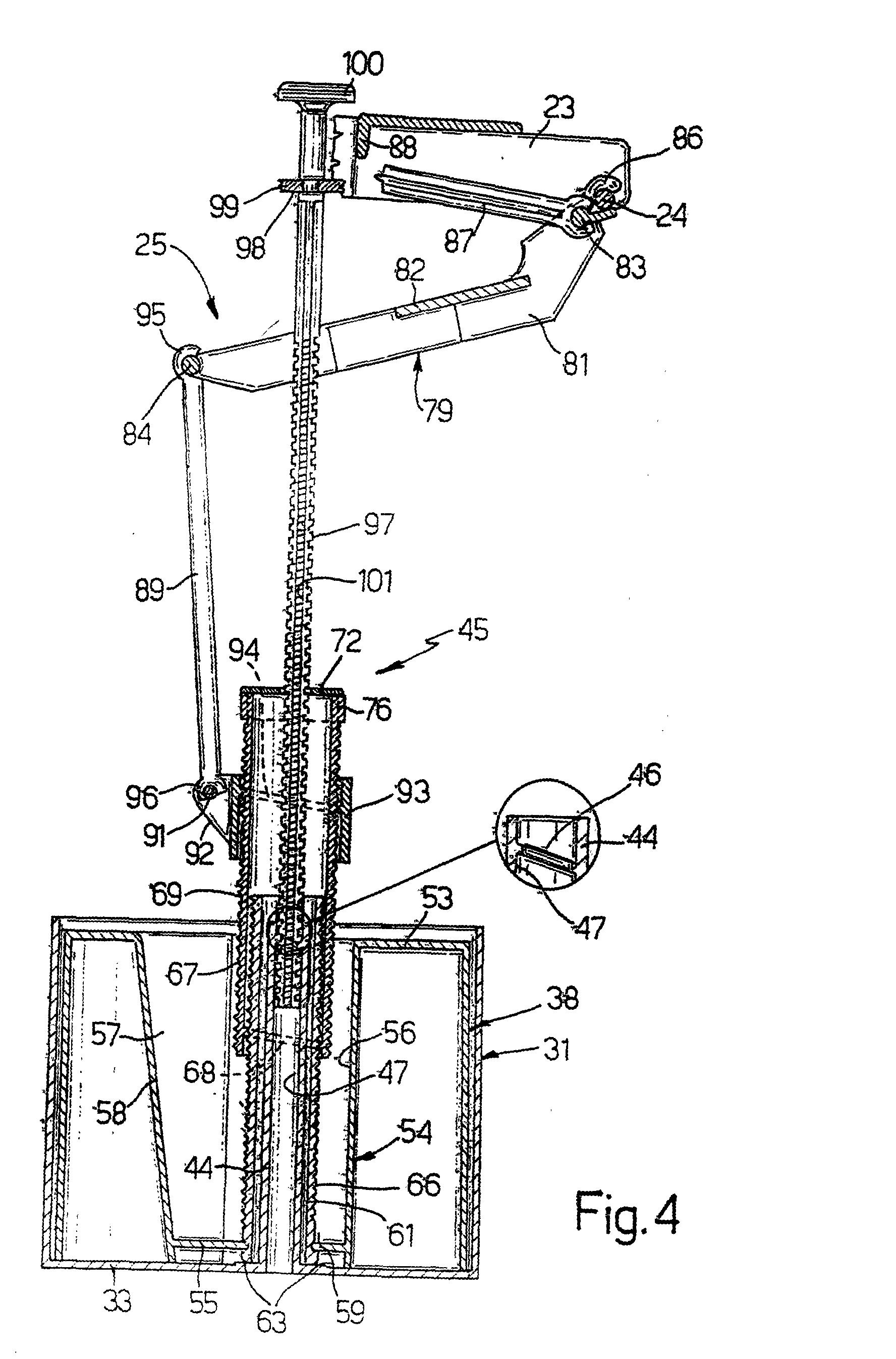 patent ep0943851b1 schwimmerventil f r die speicherung. Black Bedroom Furniture Sets. Home Design Ideas