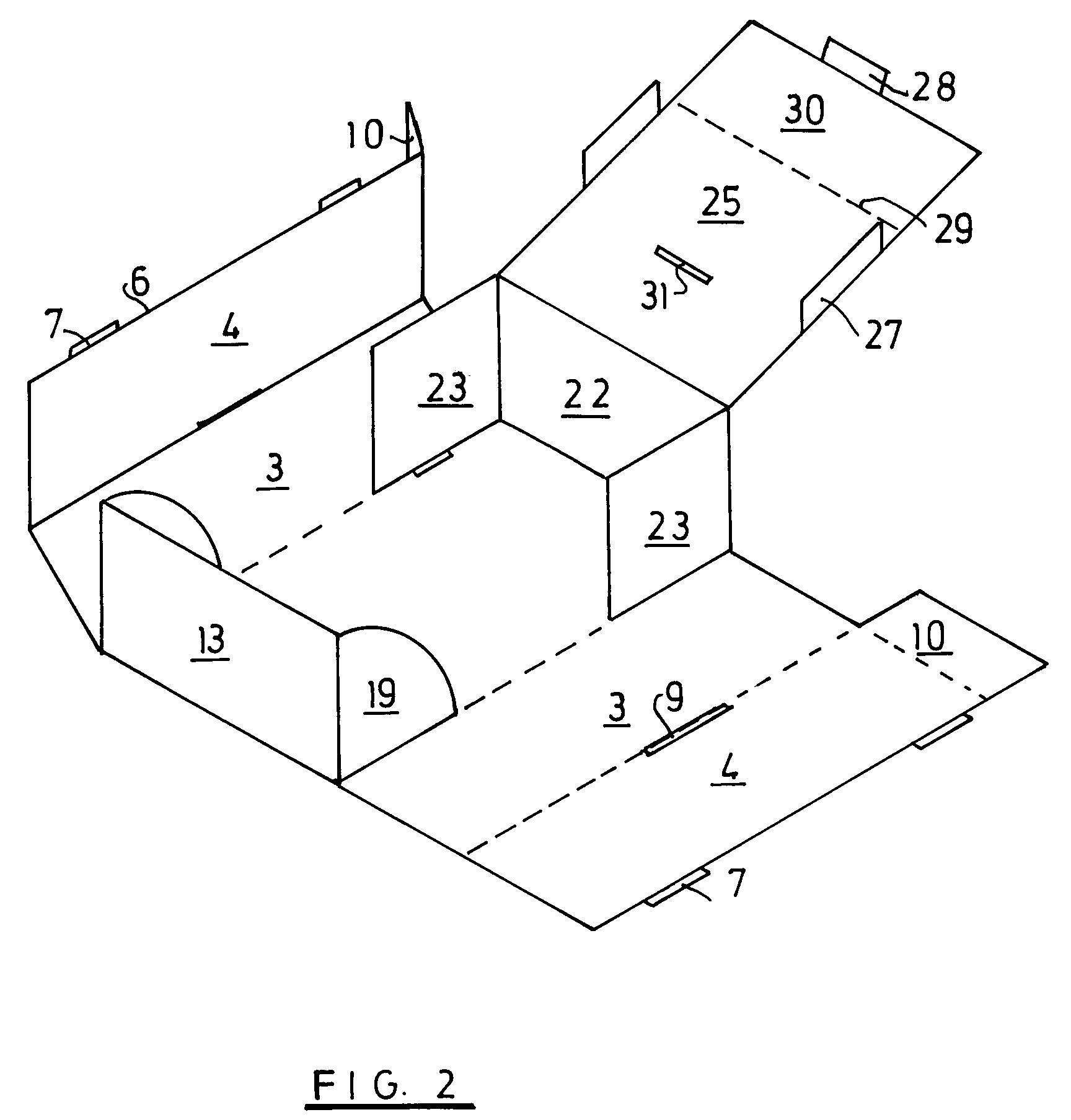 patent ep0947431a2 faltschachtel google patents. Black Bedroom Furniture Sets. Home Design Ideas
