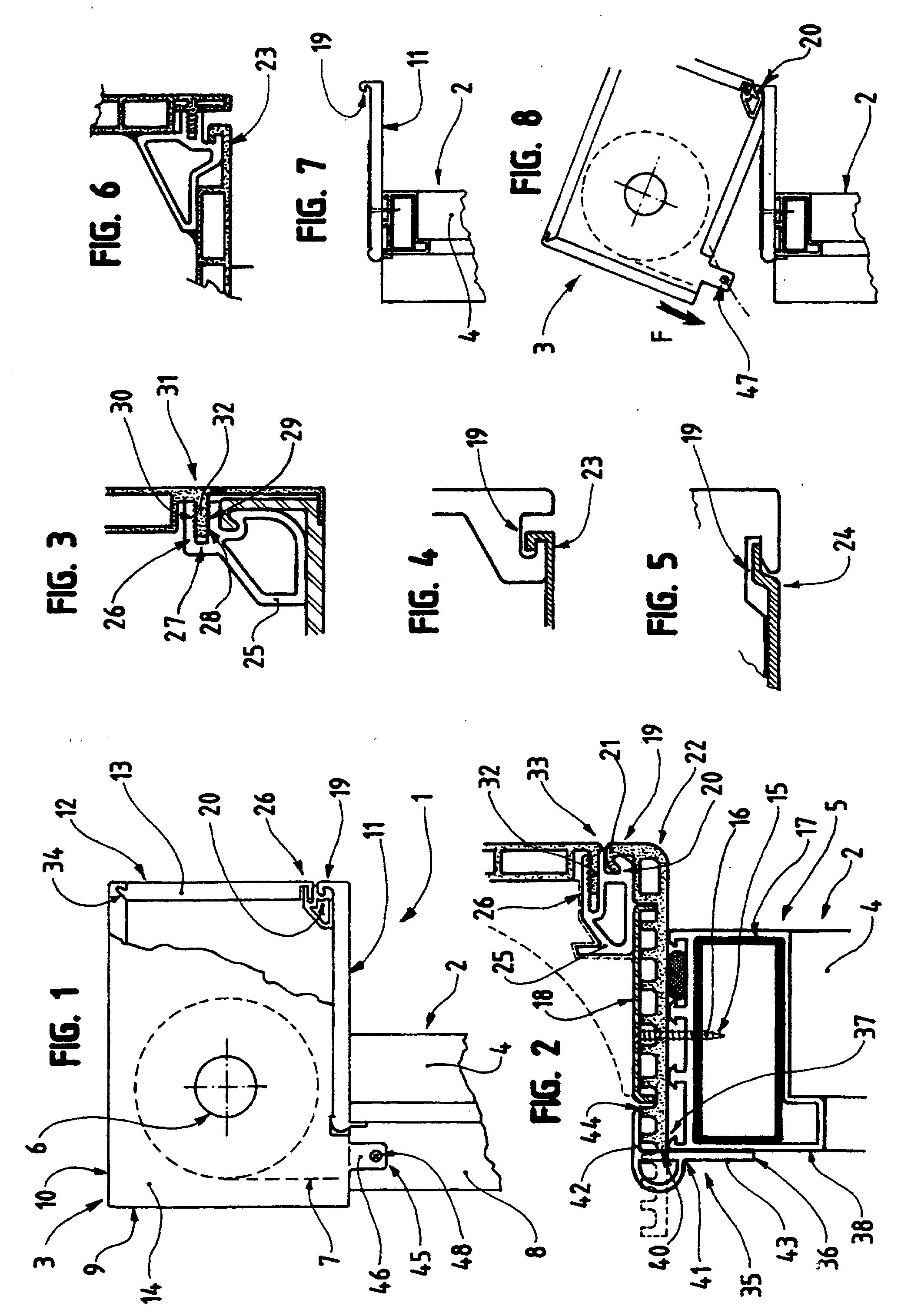 Patent ep0952296b1 caisson de volet roulant google patents - Caisson roula nt ...