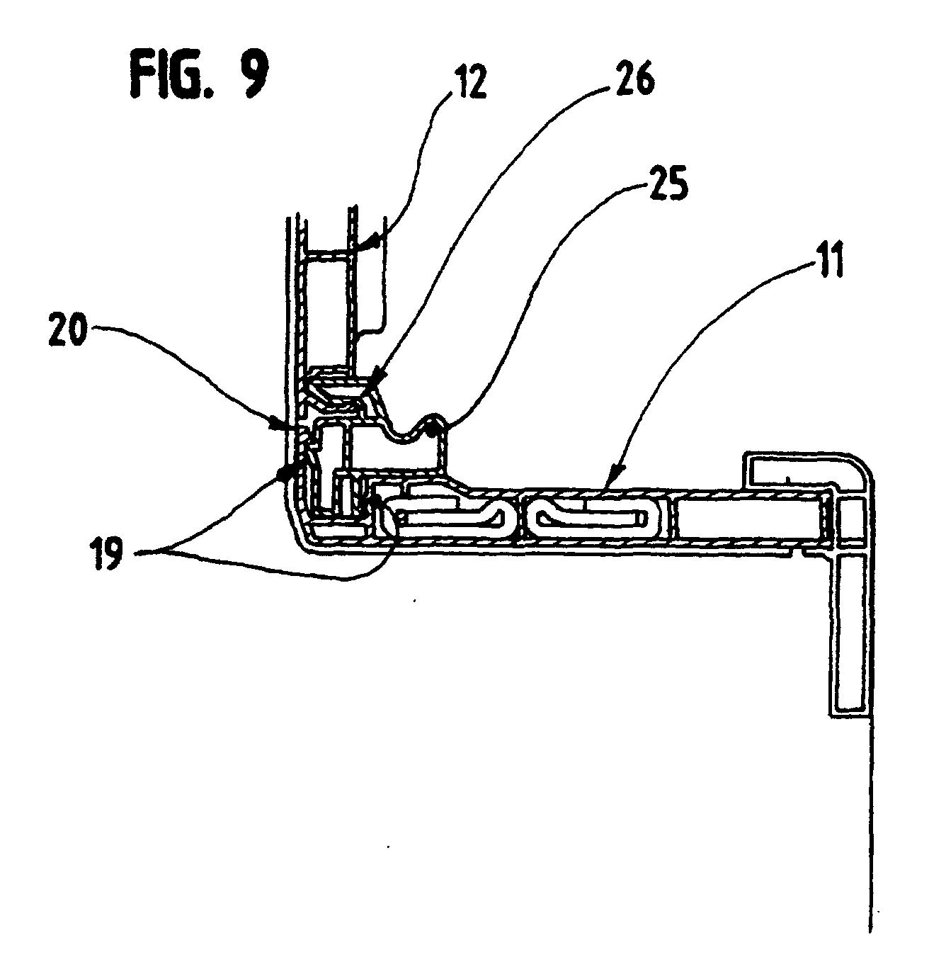 patent ep0952296b1 caisson de volet roulant google patents. Black Bedroom Furniture Sets. Home Design Ideas