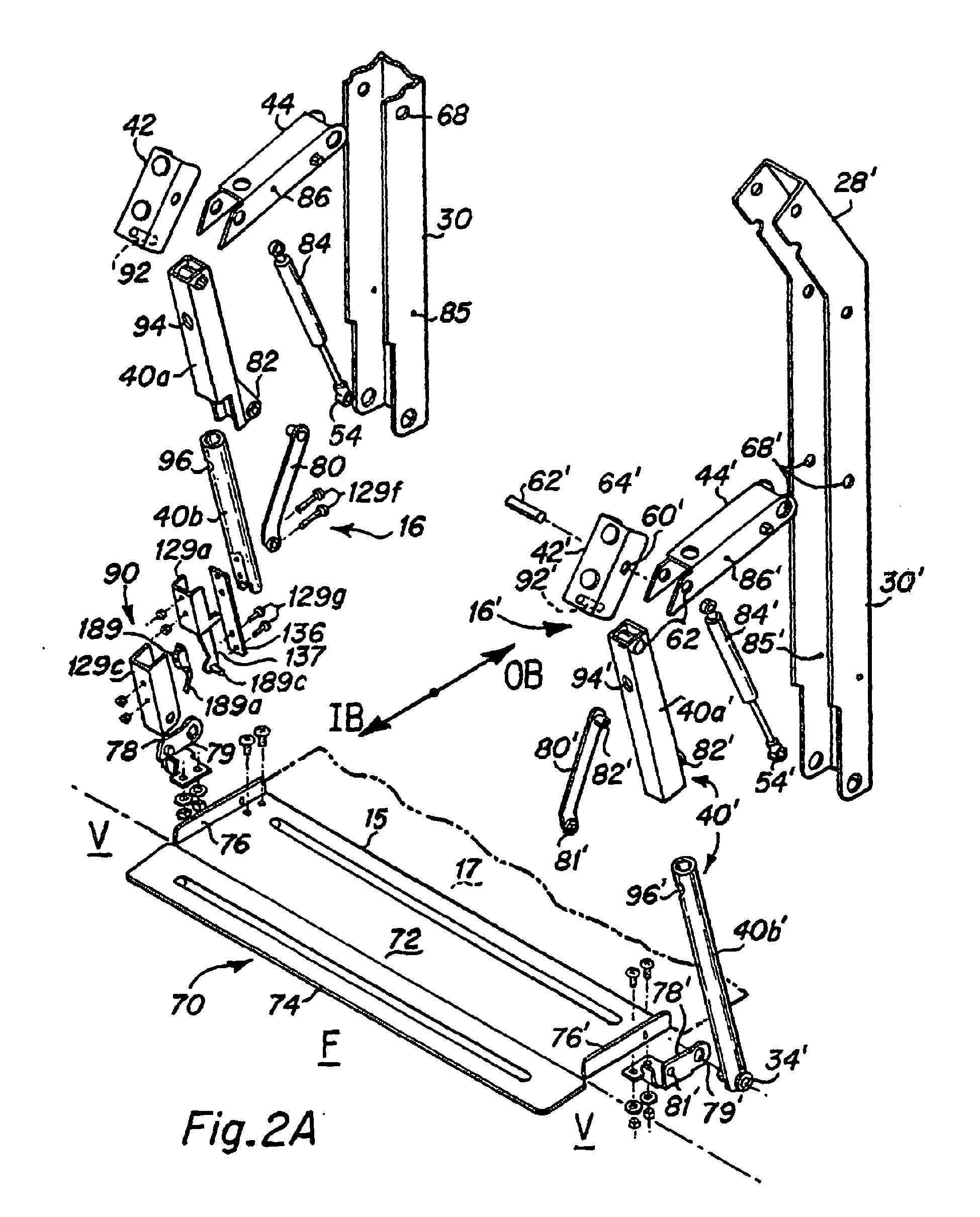 Patent Ep0955029b1 Wheelchair Lift For Vehicles Google