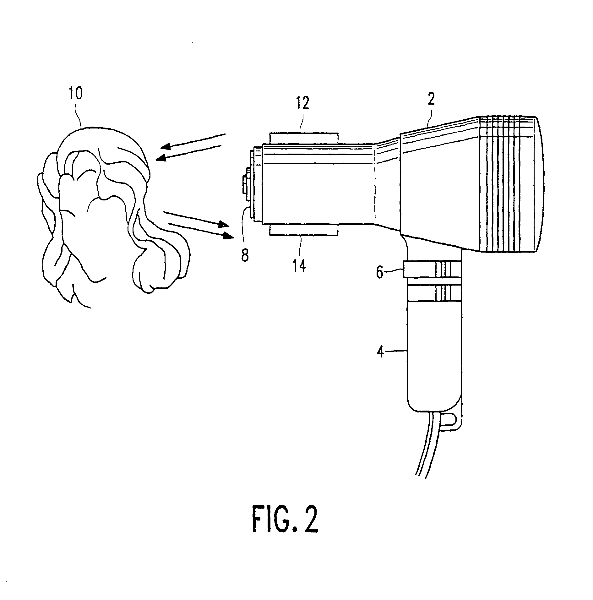 Patent EP0955826B1 - Method of and hair dryer for drying hair ...