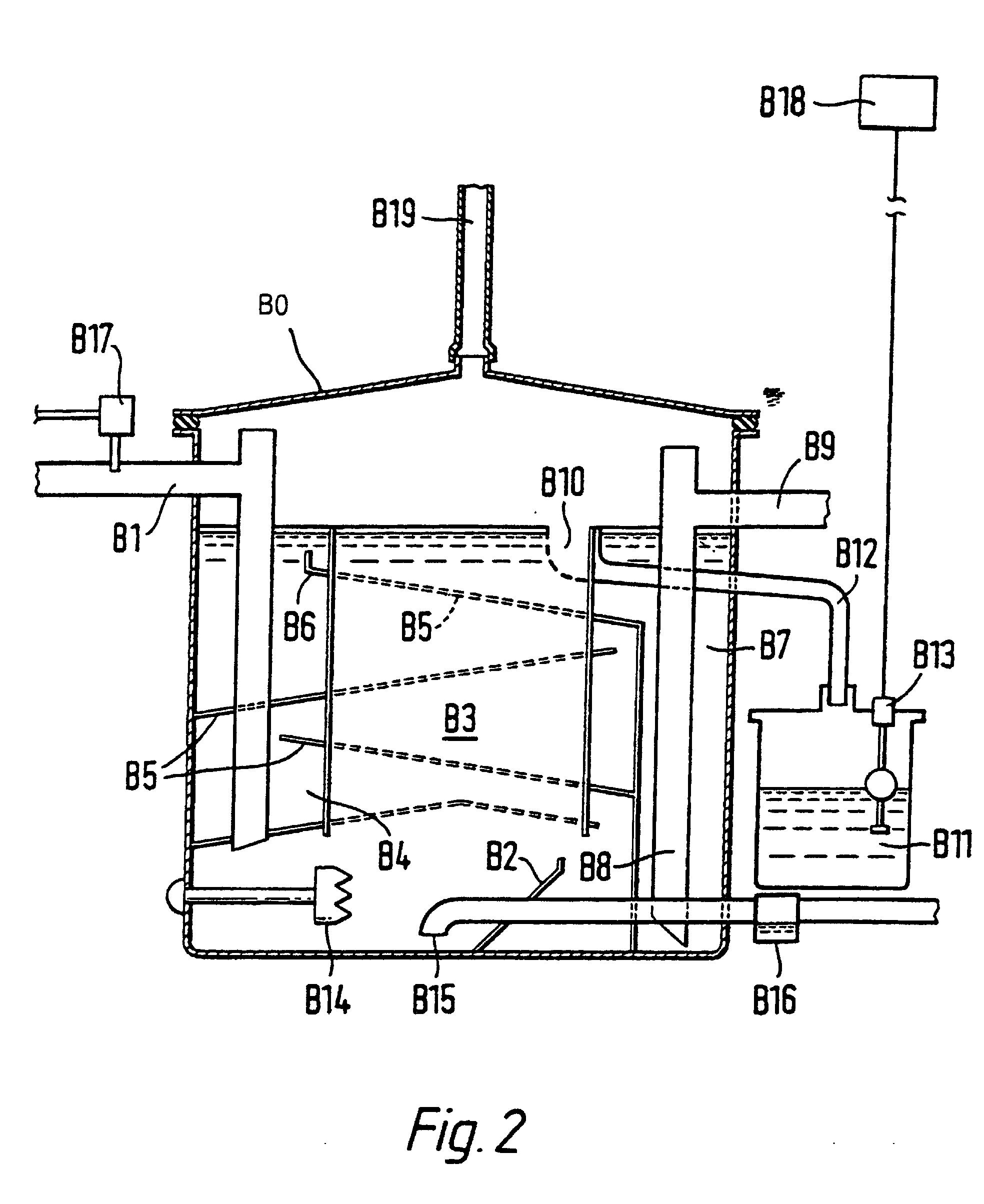 patent ep0956269b1 - oil  grease separator