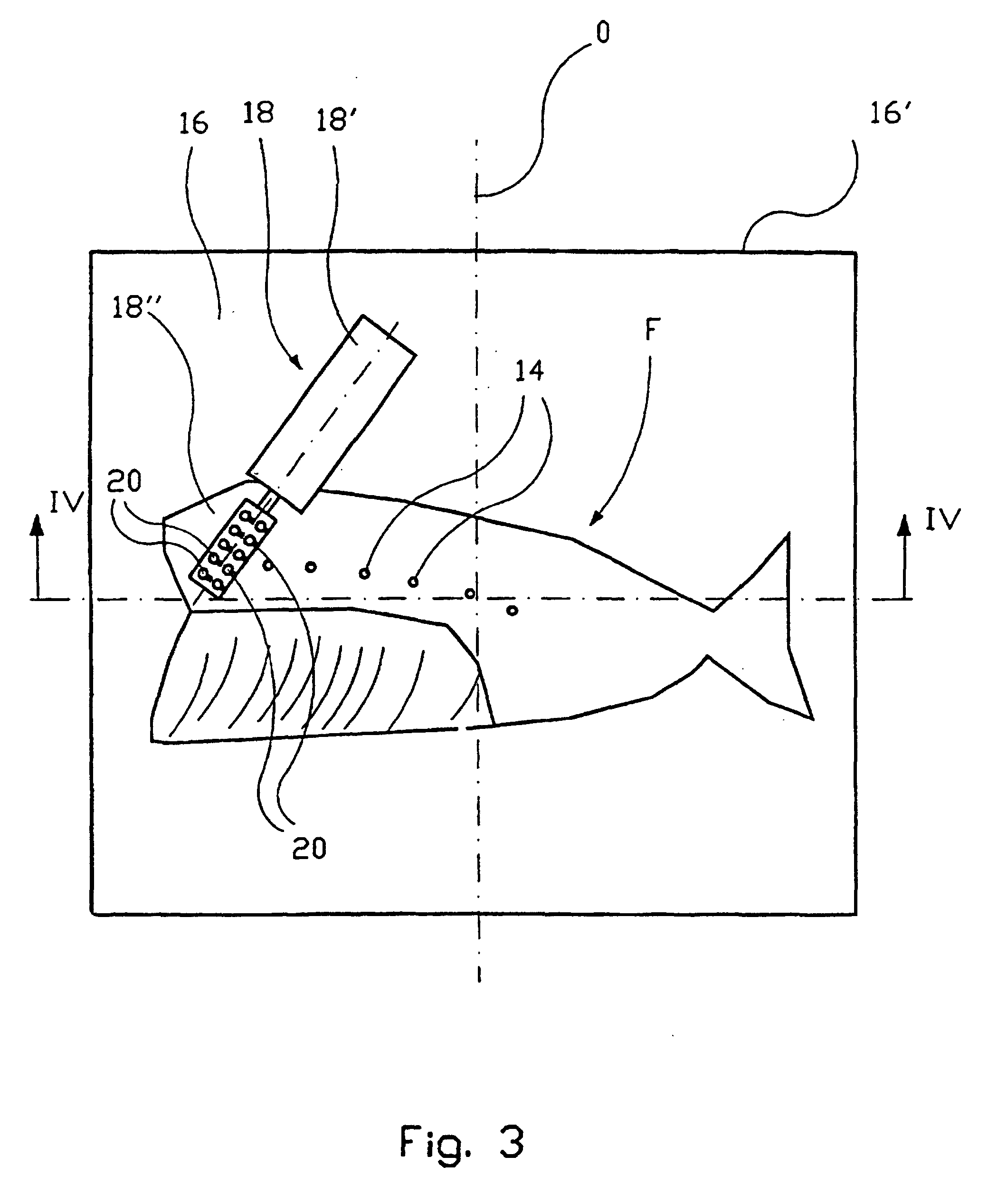 Patent ep0959686b1 method and machine for removing pin for Fish without bones