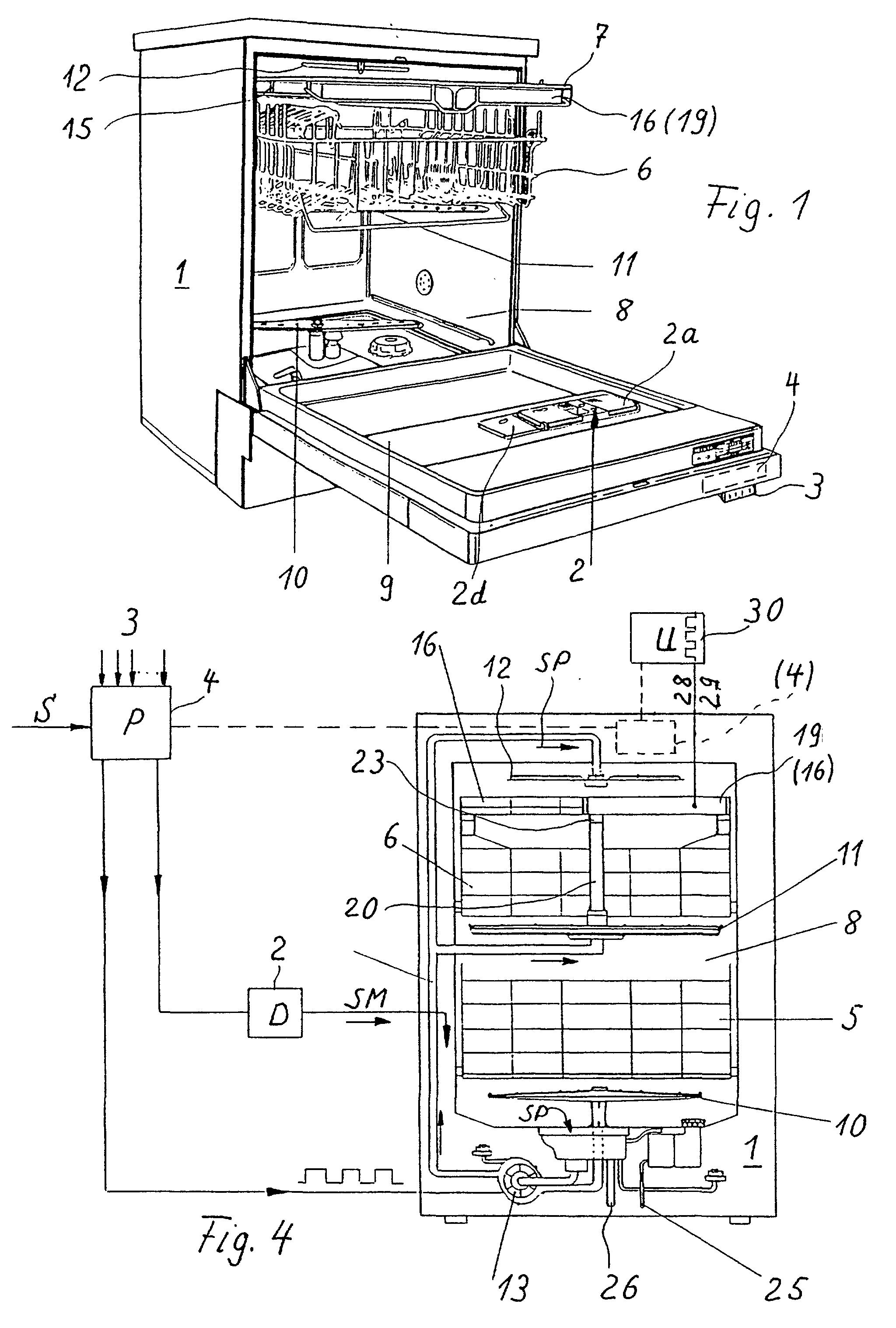 patent ep0966913b1 verfahren zum sp len reinigen und trocknen von geschirr und bestecken in. Black Bedroom Furniture Sets. Home Design Ideas